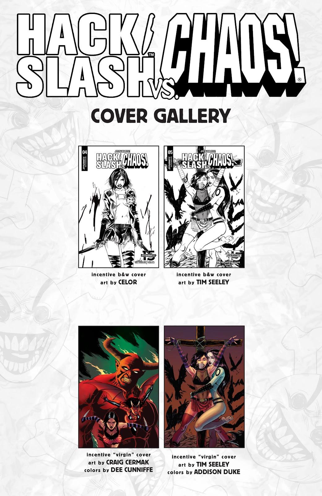 Read online Hack/Slash vs. Chaos comic -  Issue #5 - 26
