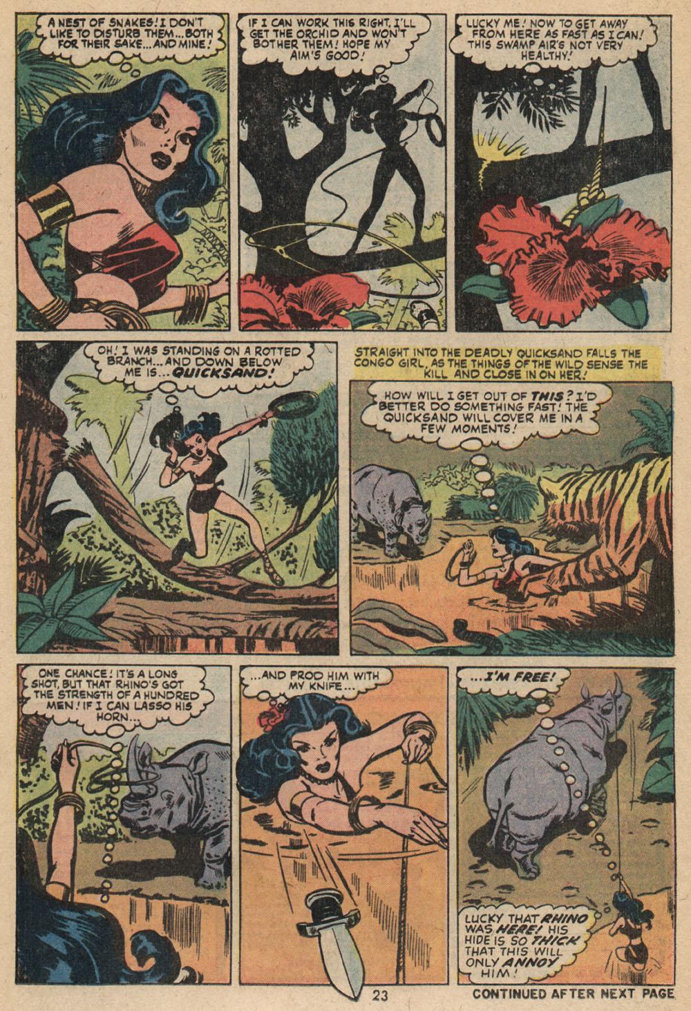 Read online Astonishing Tales (1970) comic -  Issue #14 - 17