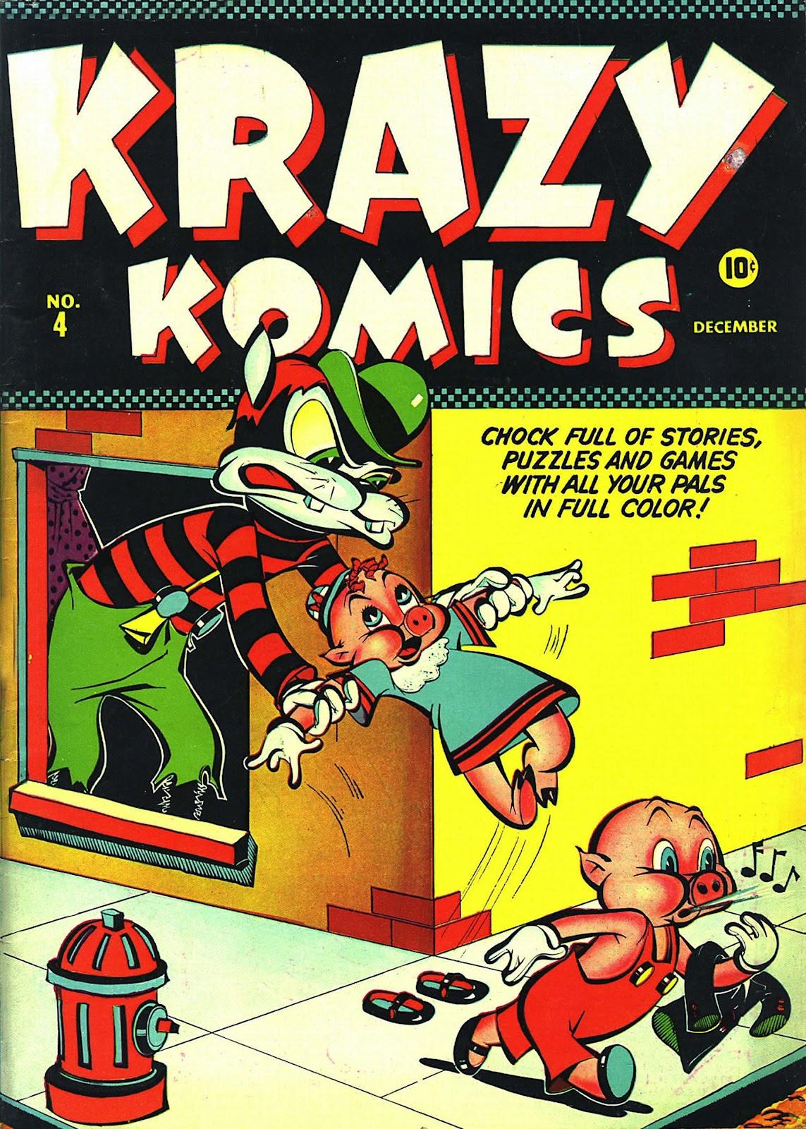 Krazy Komics issue 4 - Page 1