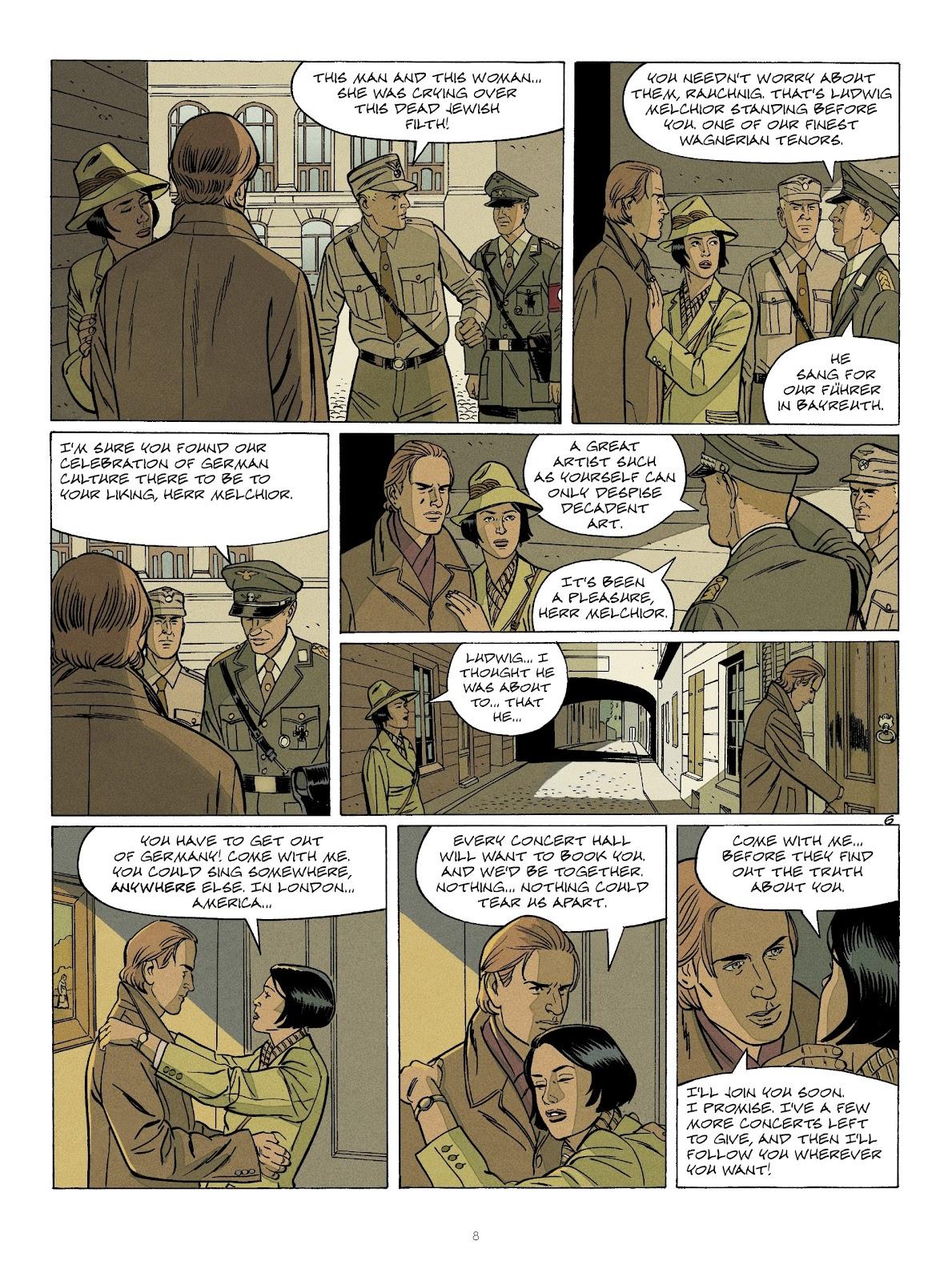 Read online Sherman comic -  Issue #7 - 8