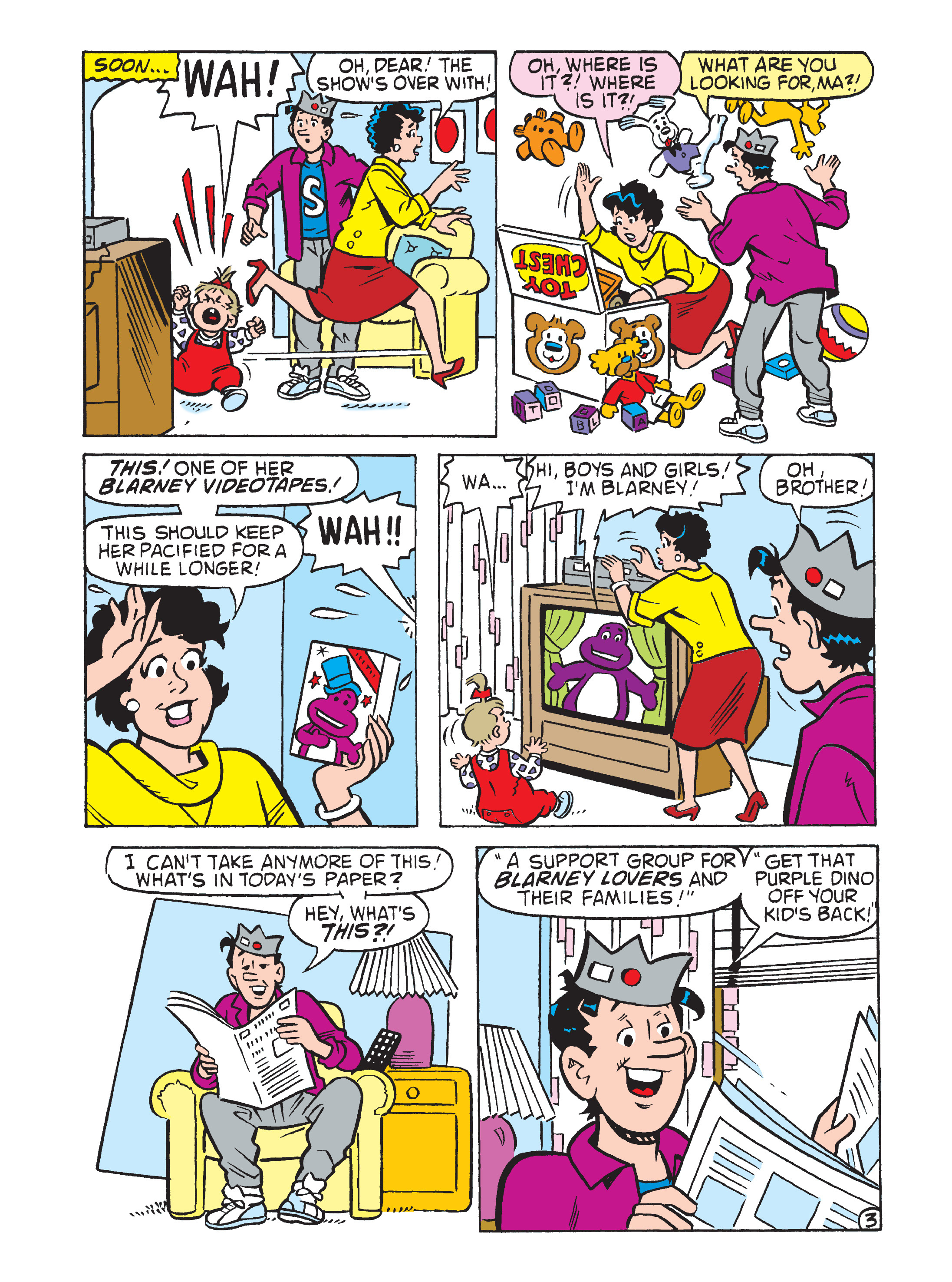 Read online Archie 75th Anniversary Digest comic -  Issue #5 - 123