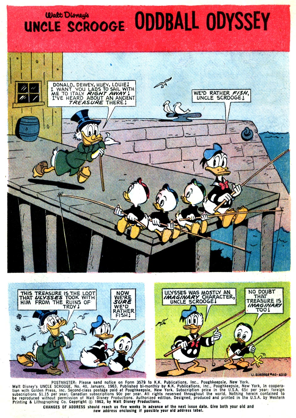 Read online Uncle Scrooge (1953) comic -  Issue #40 - 3