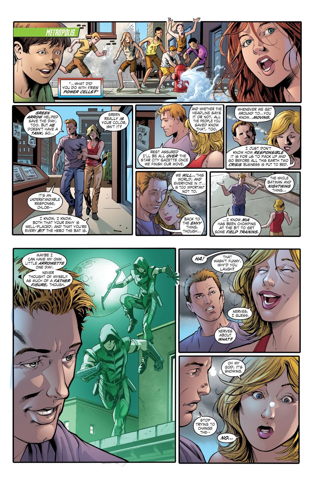 Read online Smallville Season 11 [II] comic -  Issue # TPB 2 - 130