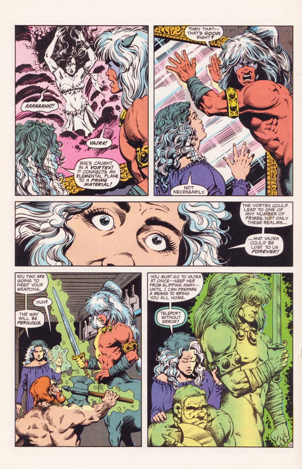 Read online Advanced Dungeons & Dragons comic -  Issue #35 - 12