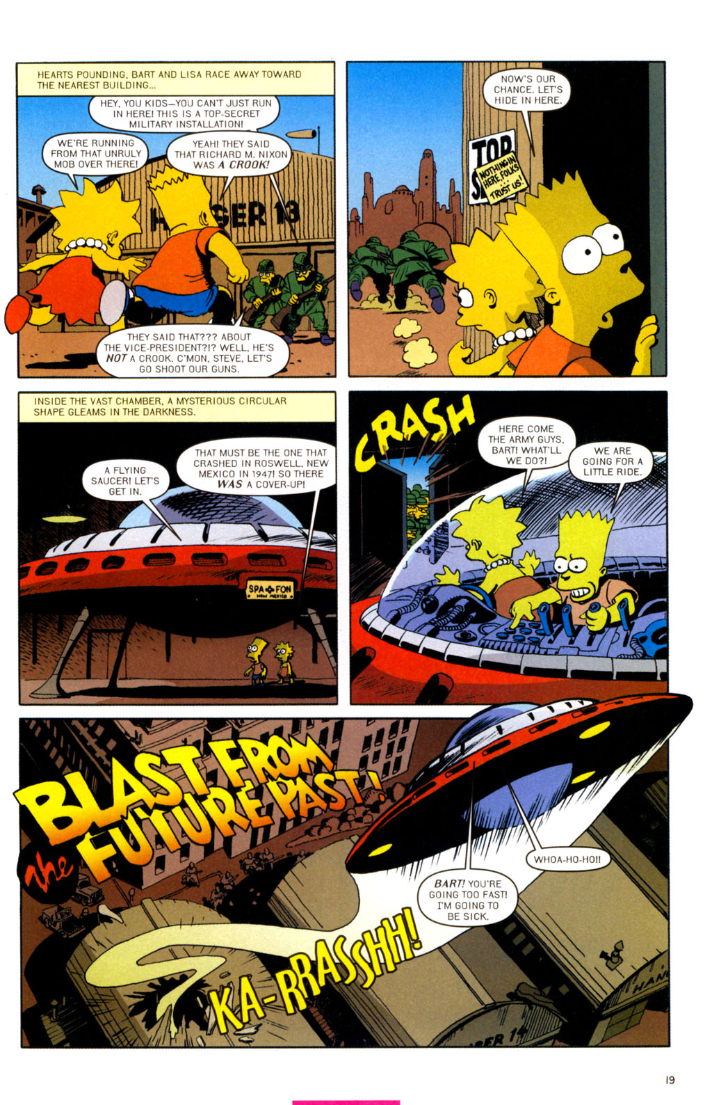 Read online Treehouse of Horror comic -  Issue #11 - 50