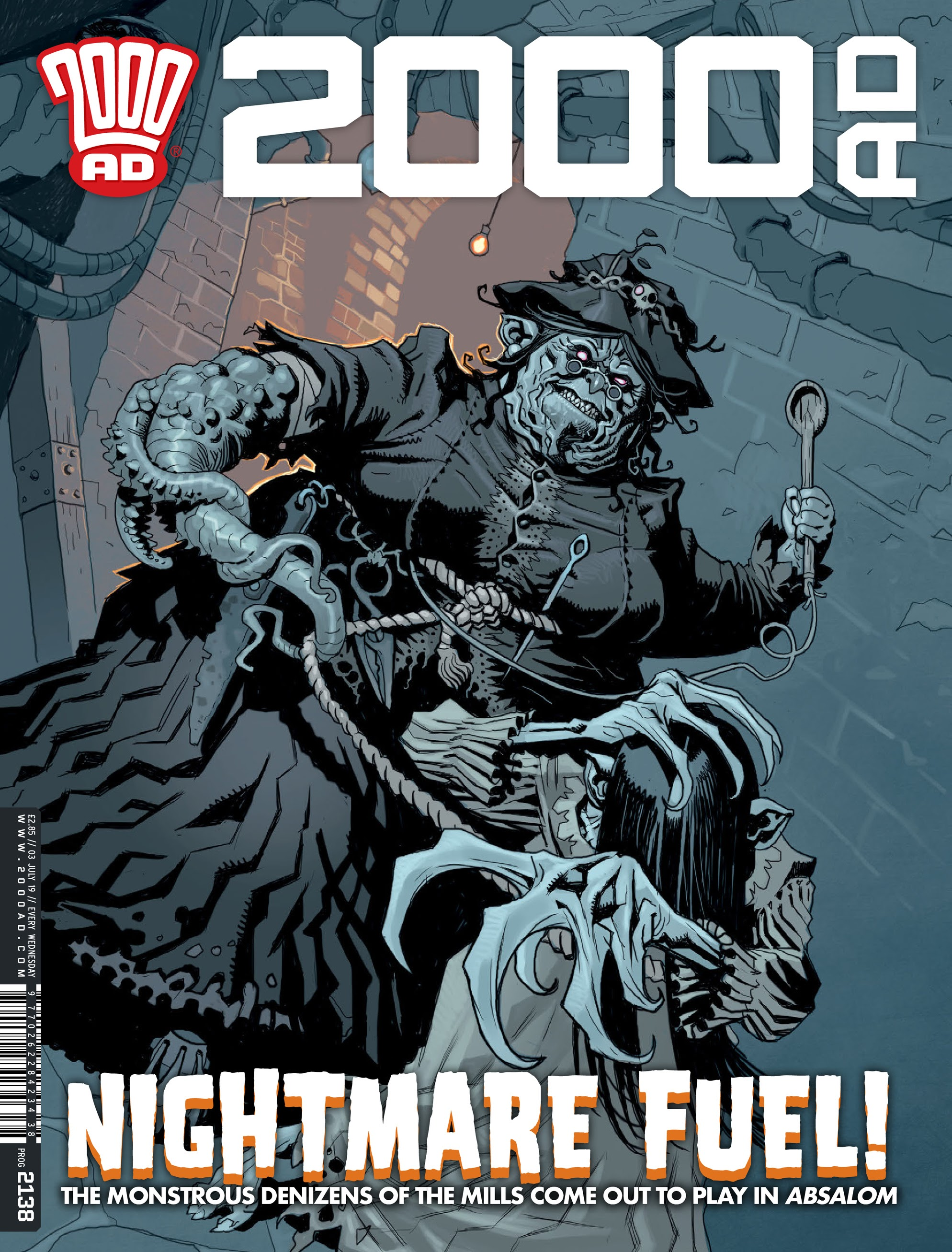 2000 AD 2138 Page 1
