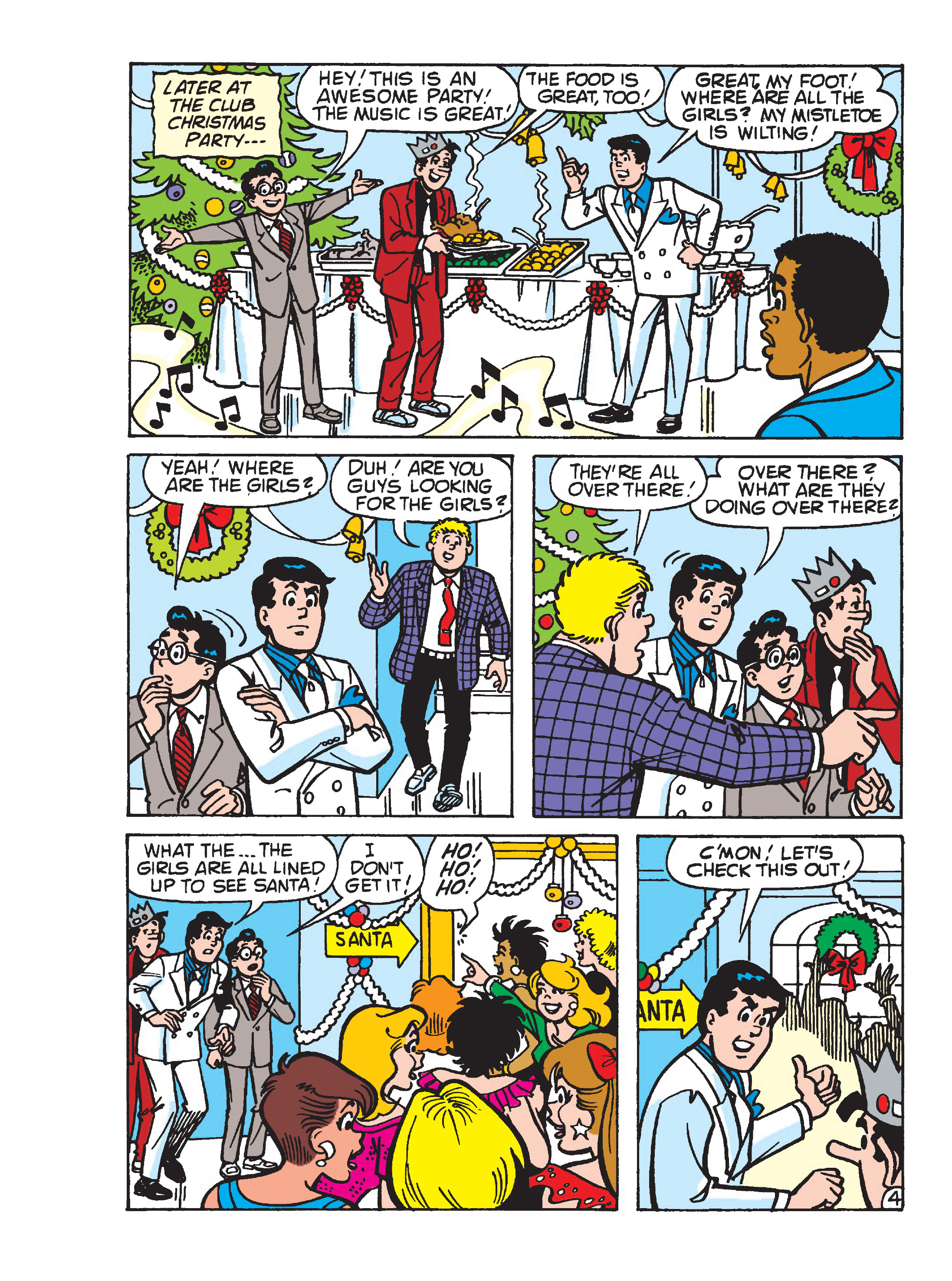Read online Archie's Funhouse Double Digest comic -  Issue #23 - 155