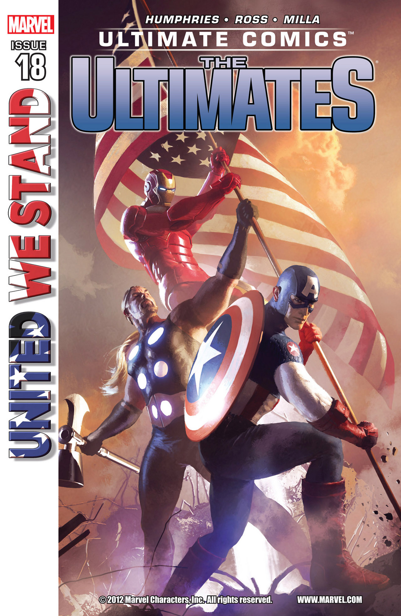 Read online Ultimate Comics Ultimates comic -  Issue #18 - 1