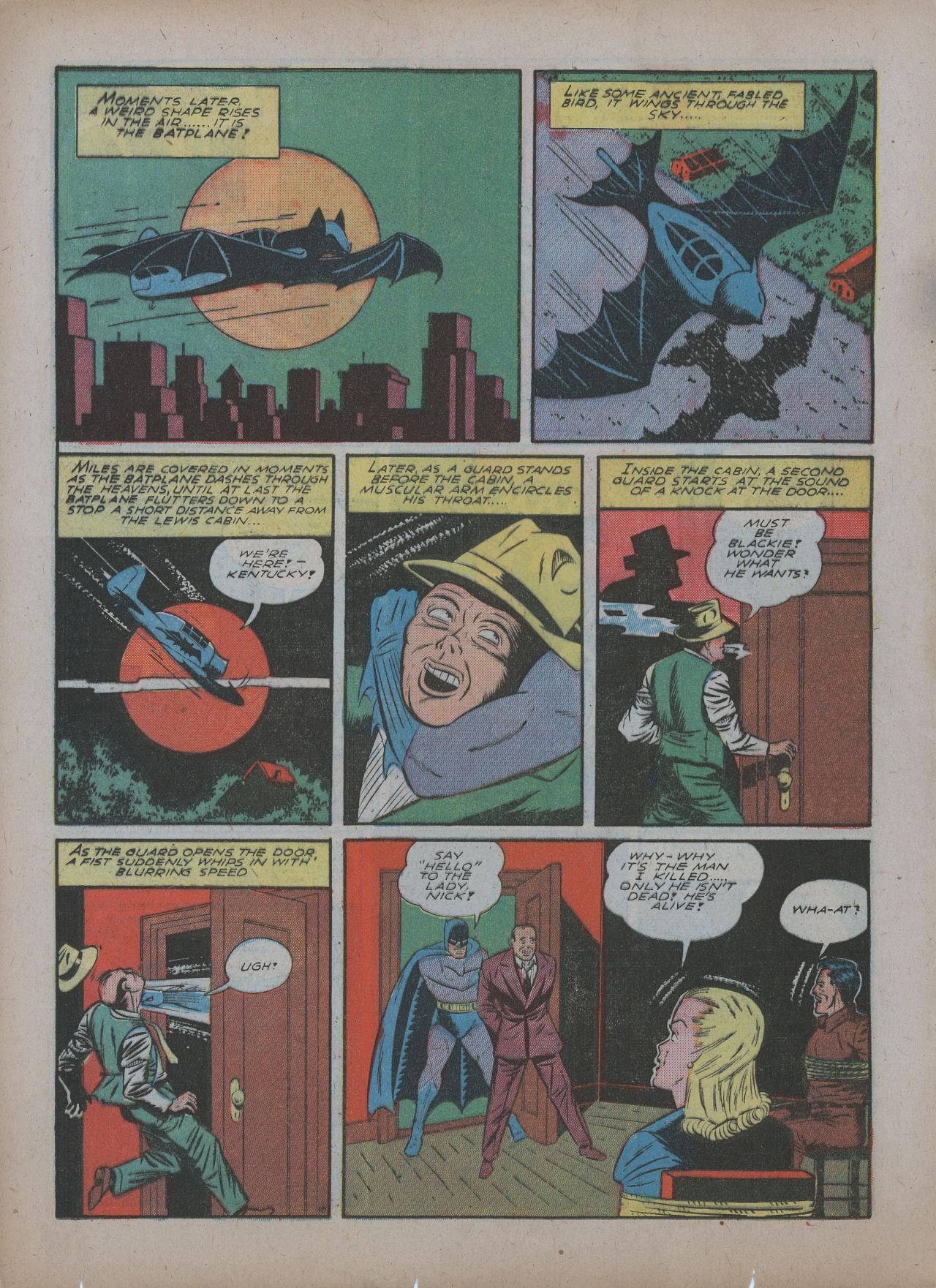 Read online Detective Comics (1937) comic -  Issue #48 - 12