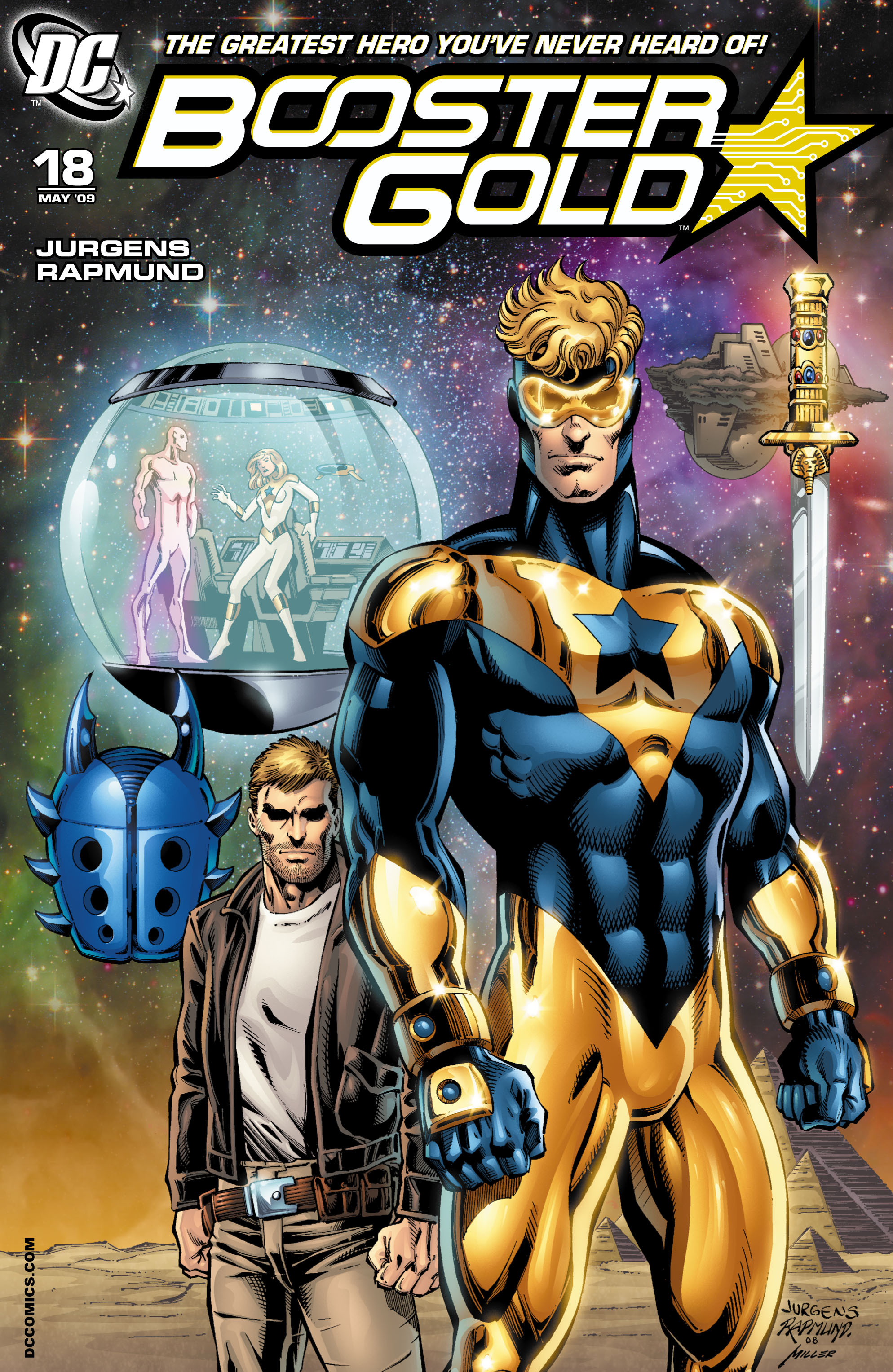 Booster Gold 2007 Issue 18