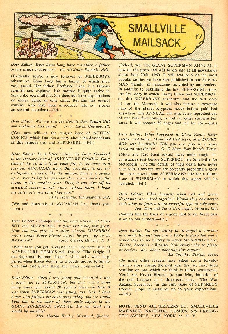 Read online Adventure Comics (1938) comic -  Issue #274 - 26