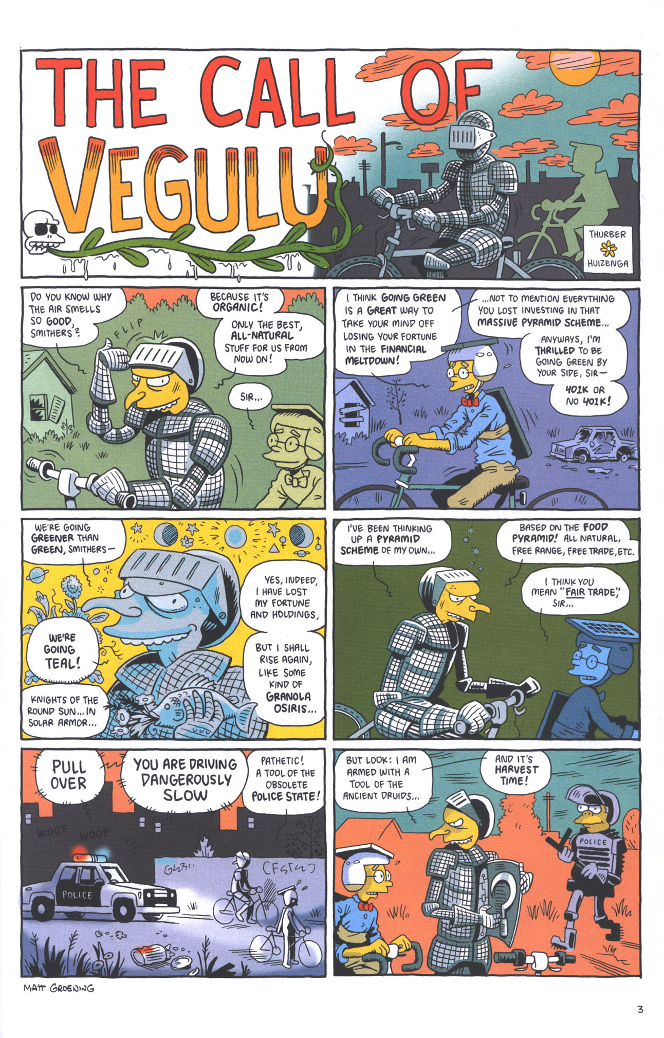 Read online Treehouse of Horror comic -  Issue #15 - 6