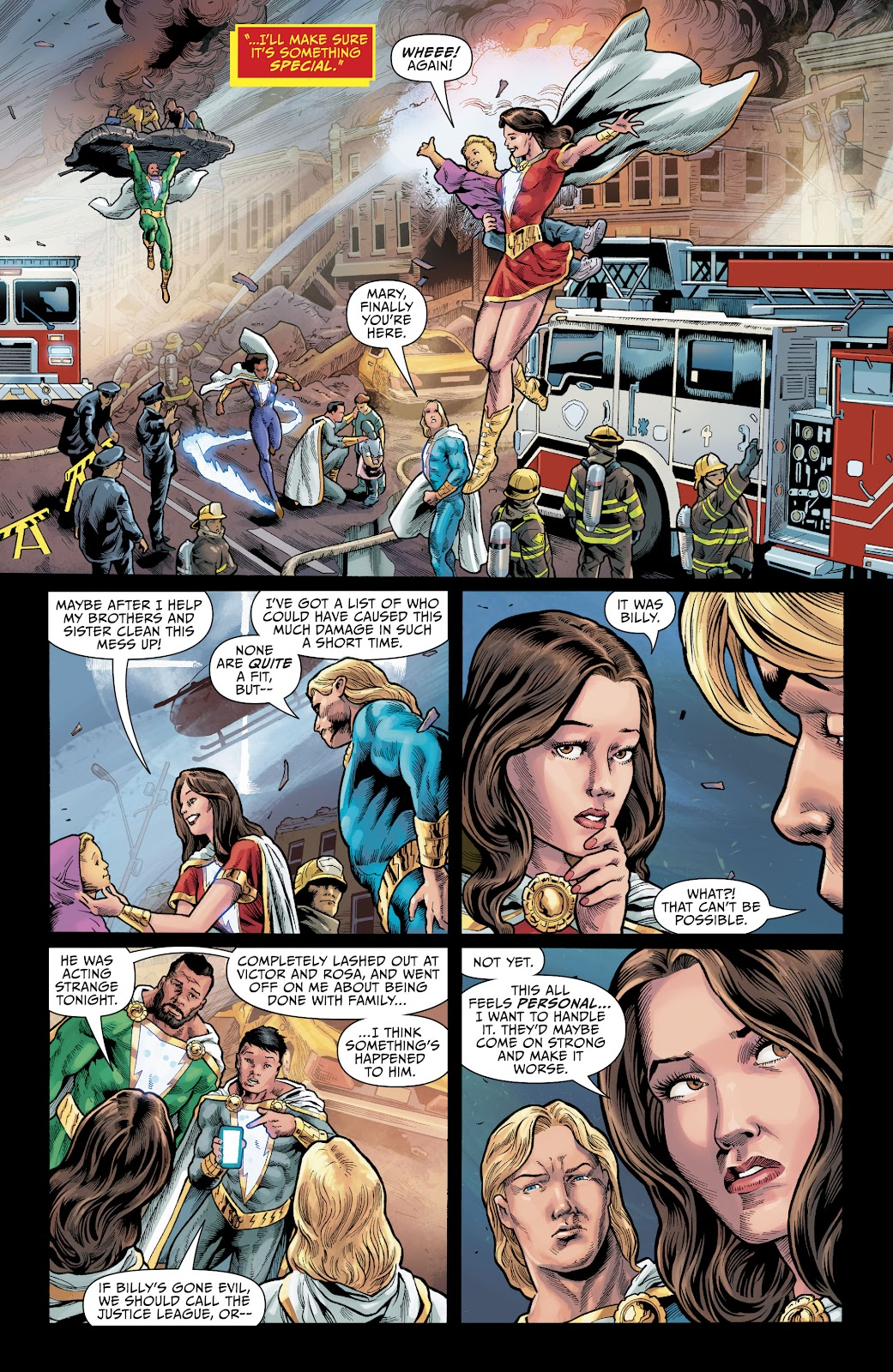 Read online The Infected: King Shazam comic -  Issue # Full - 9