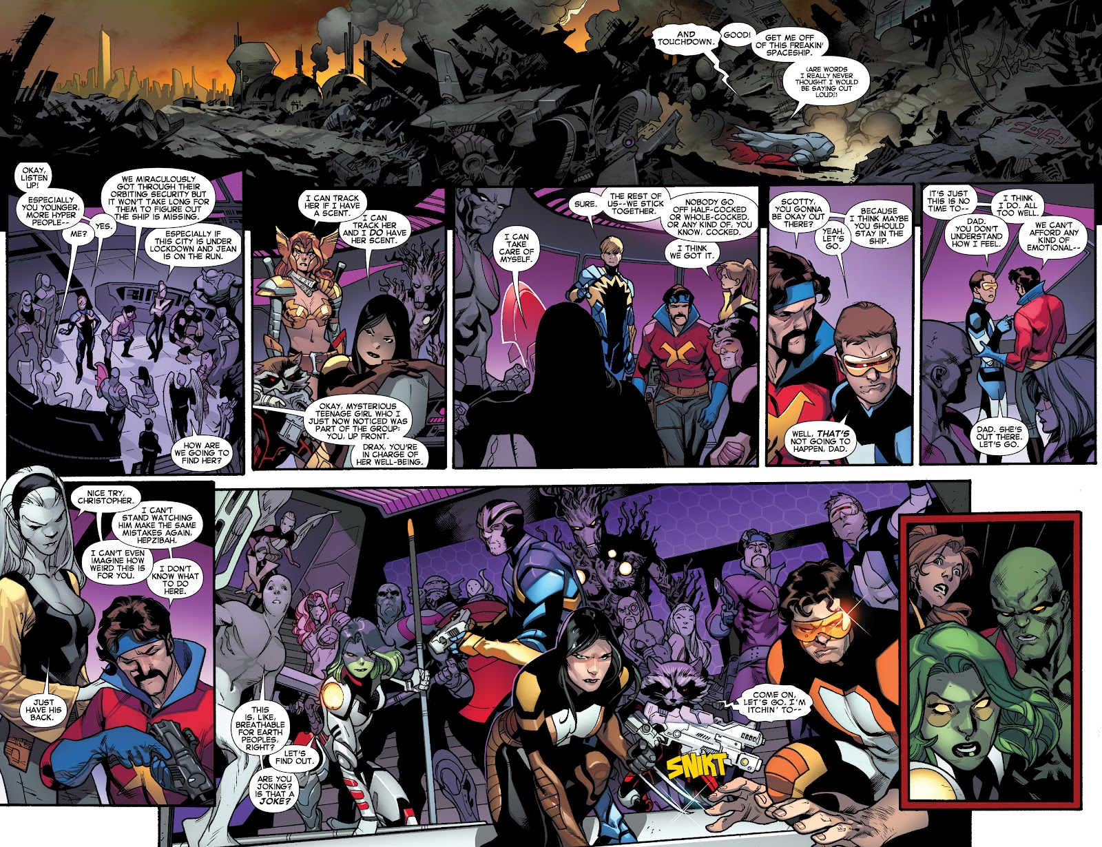 Guardians of the Galaxy/All-New X-Men: The Trial of Jean Grey issue TPB - Page 91