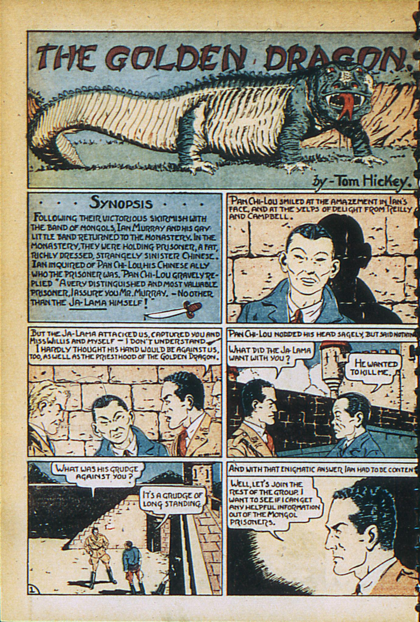 Read online Adventure Comics (1938) comic -  Issue #27 - 10