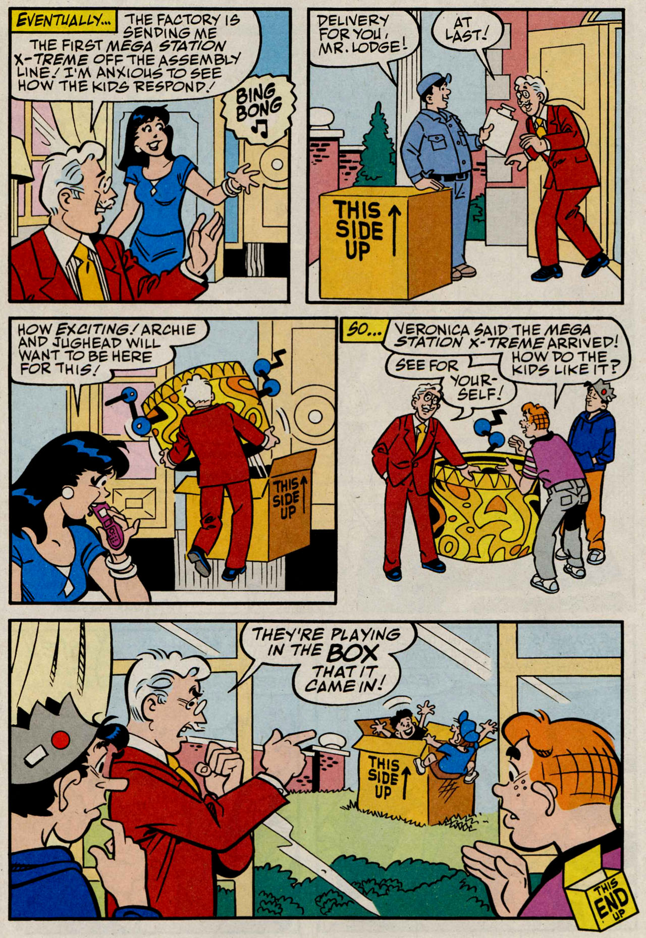 Read online Archie (1960) comic -  Issue #584 - 18