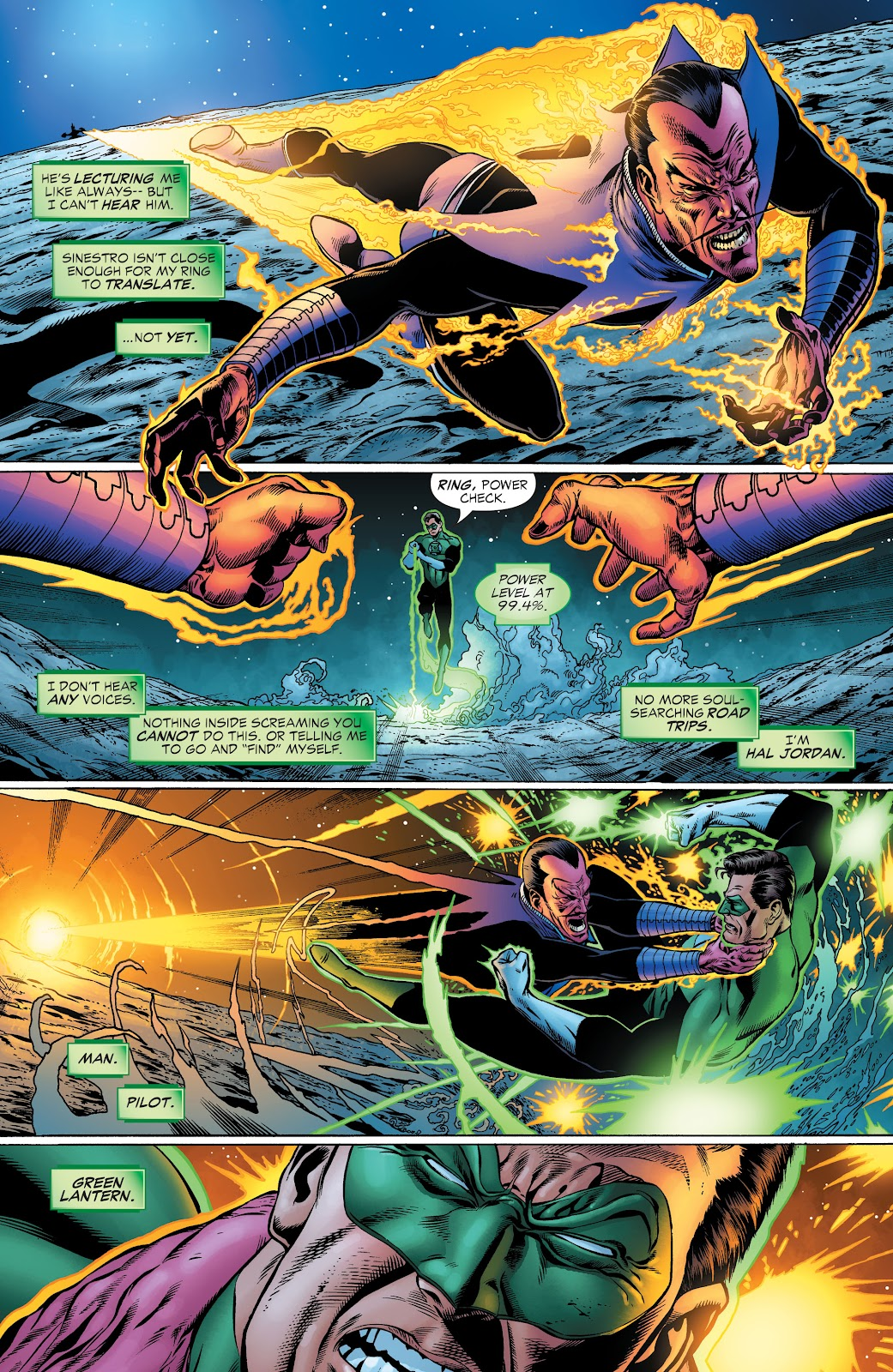 Read online Green Lantern by Geoff Johns comic -  Issue # TPB 1 (Part 2) - 16
