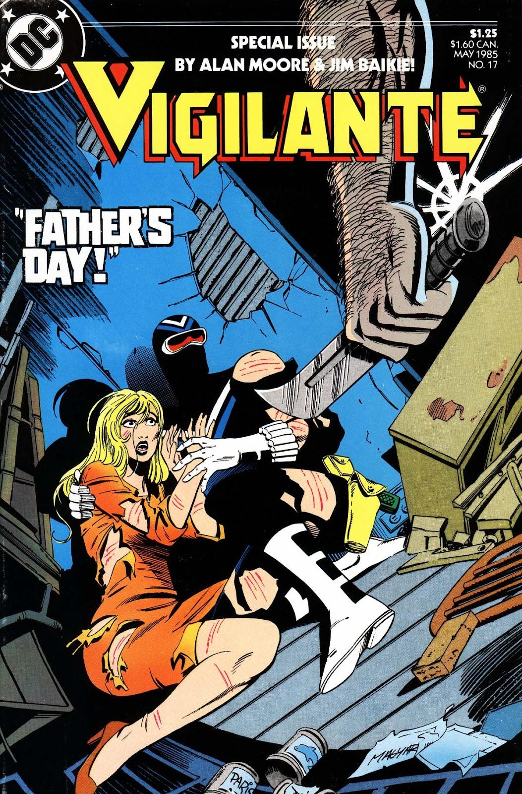 Vigilante (1983) issue 17 - Page 1