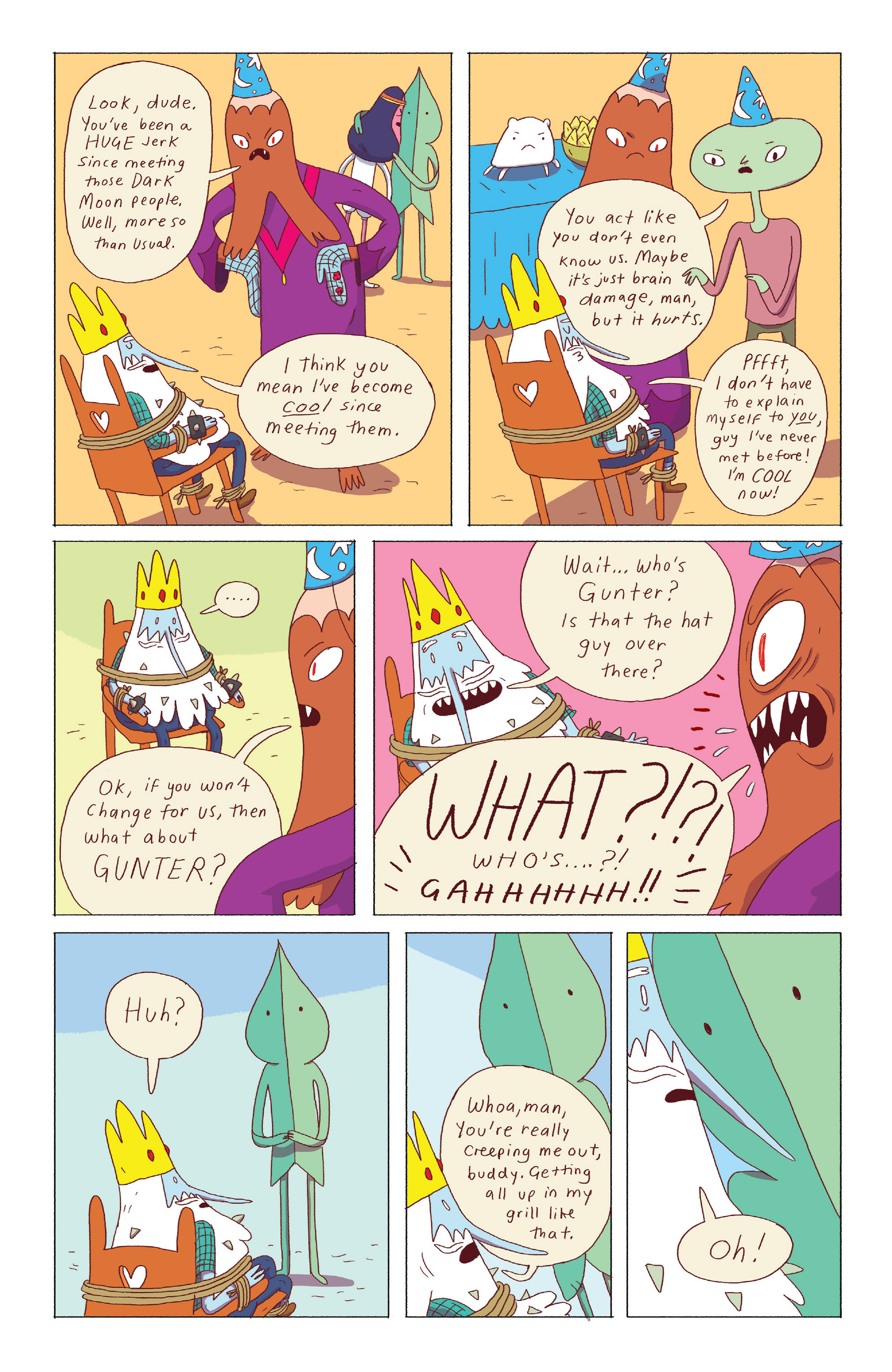 Read online Adventure Time: Ice King comic -  Issue #3 - 22