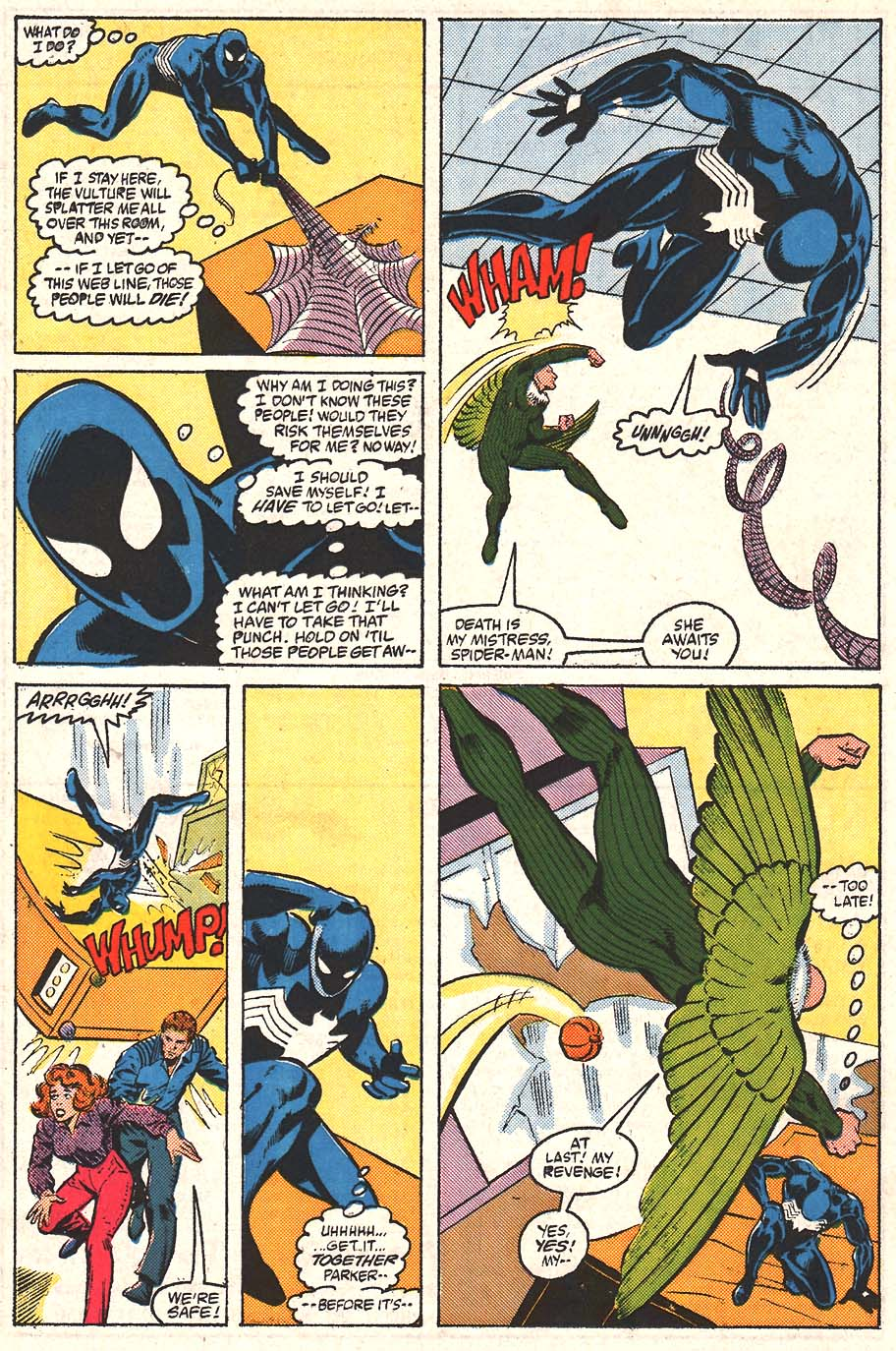 Web of Spider-Man (1985) Issue #24 #34 - English 19