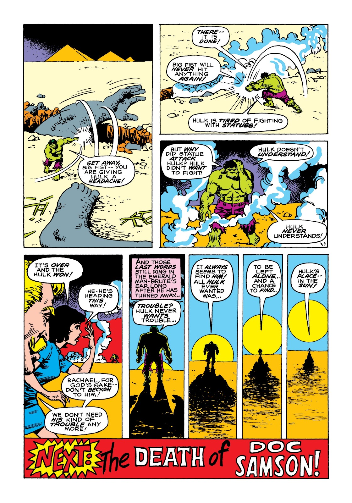Read online Marvel Masterworks: The Incredible Hulk comic -  Issue # TPB 8 (Part 1) - 40