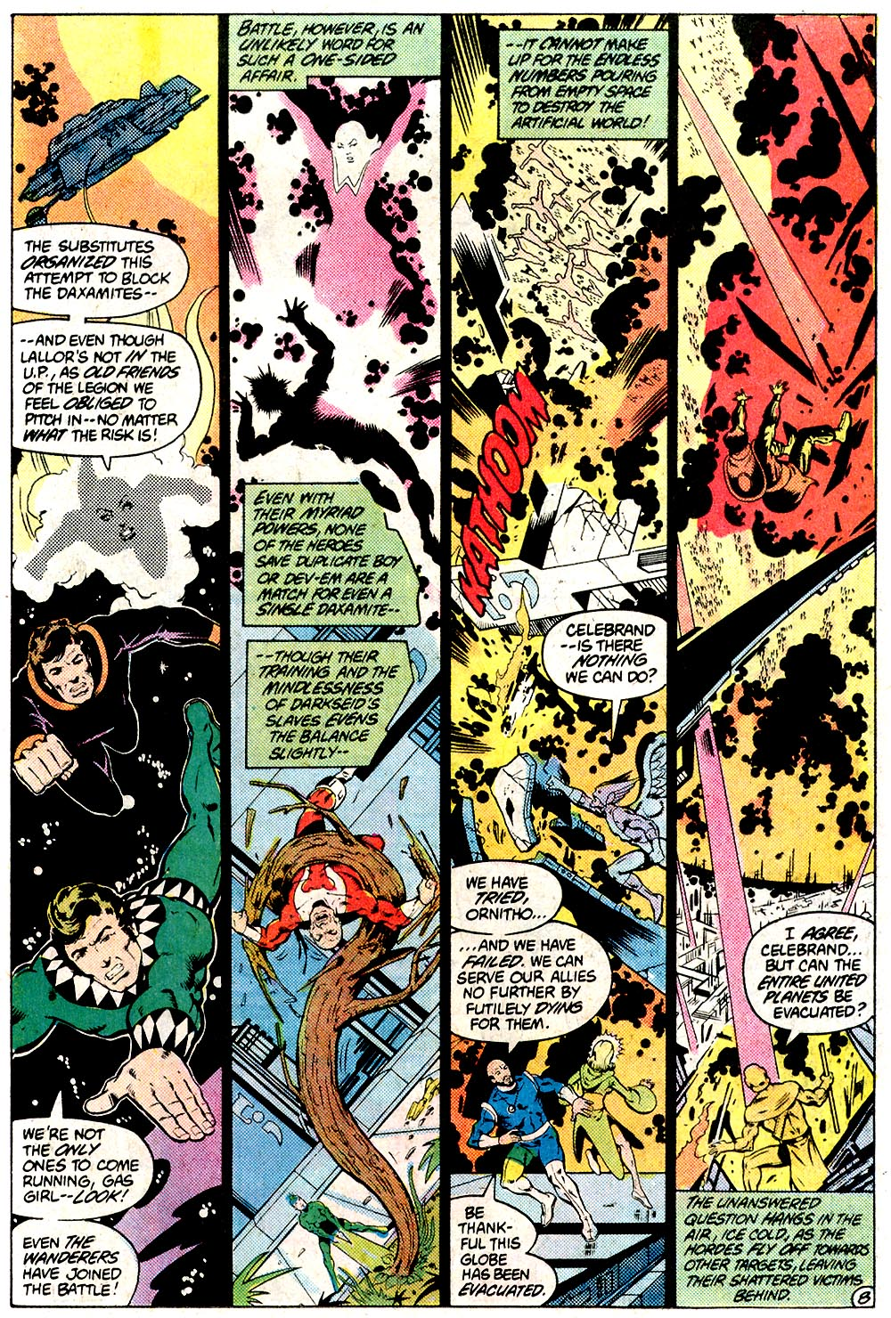Legion of Super-Heroes (1980) 294 Page 8