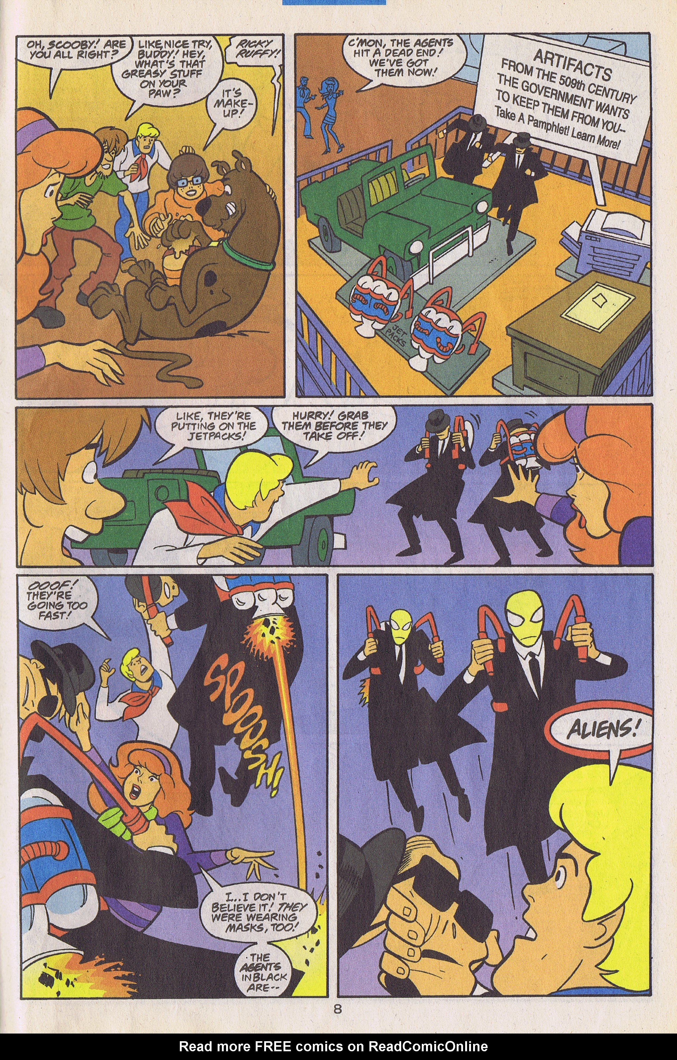 Read online Scooby-Doo (1997) comic -  Issue #26 - 38