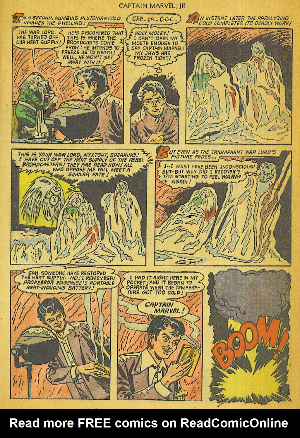 Captain Marvel, Jr. issue 111 - Page 8