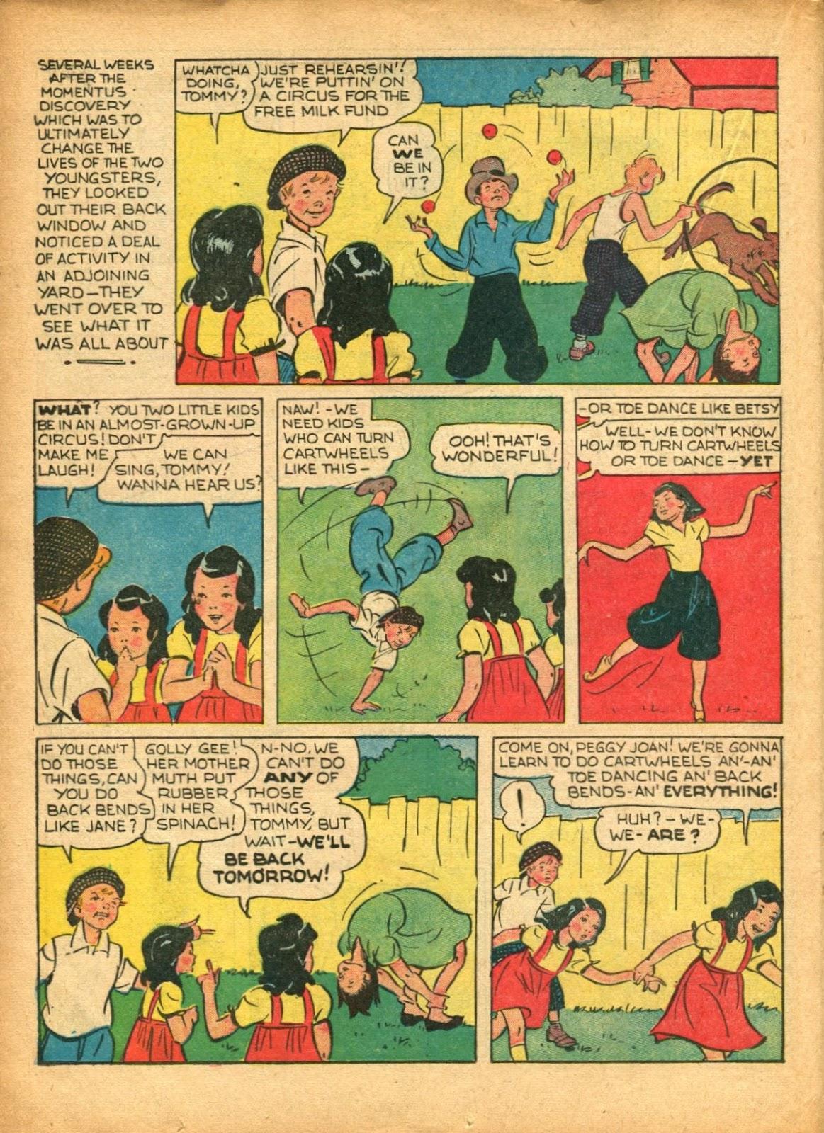 Read online Super-Magician Comics comic -  Issue #5 - 39