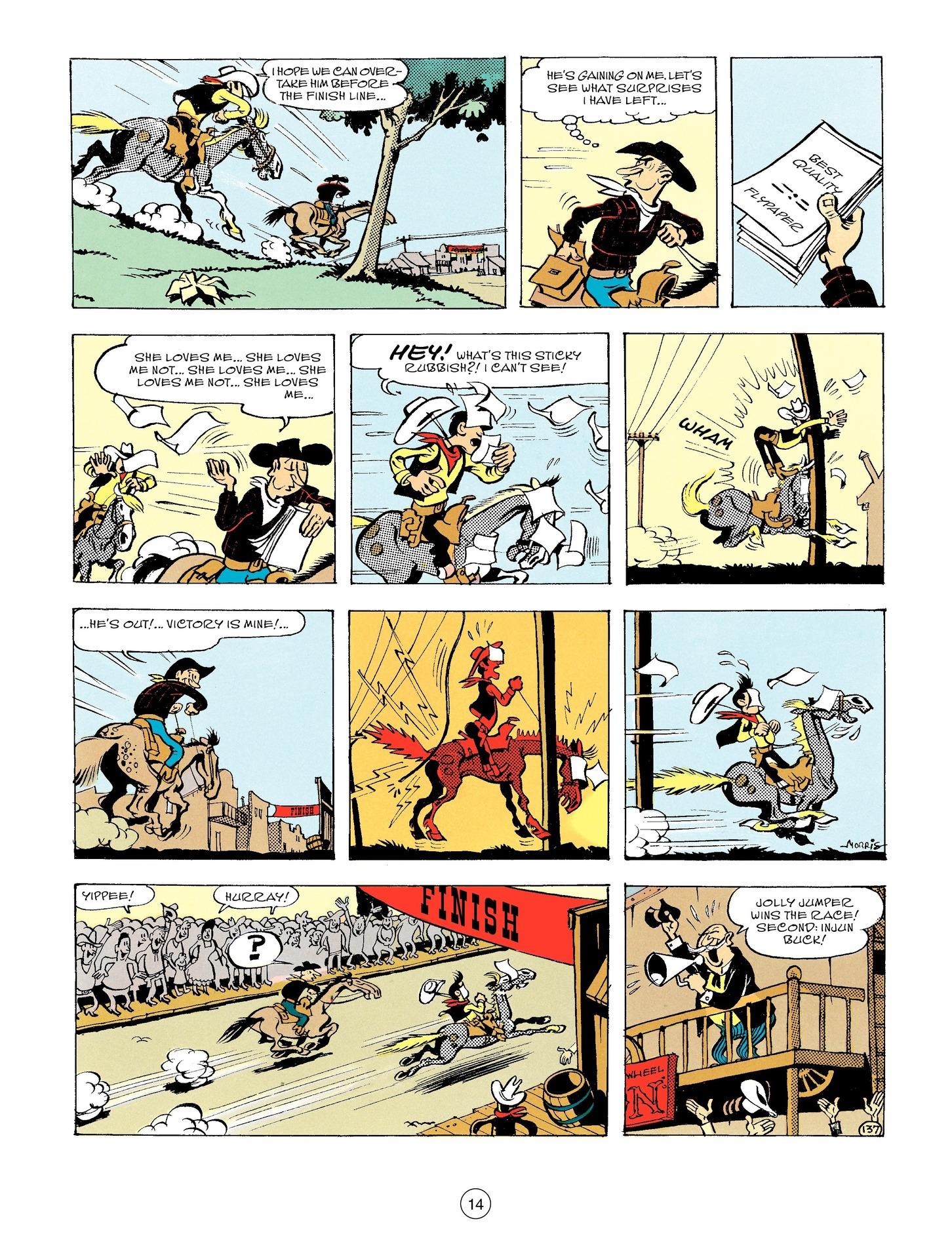 Read online A Lucky Luke Adventure comic -  Issue #56 - 14