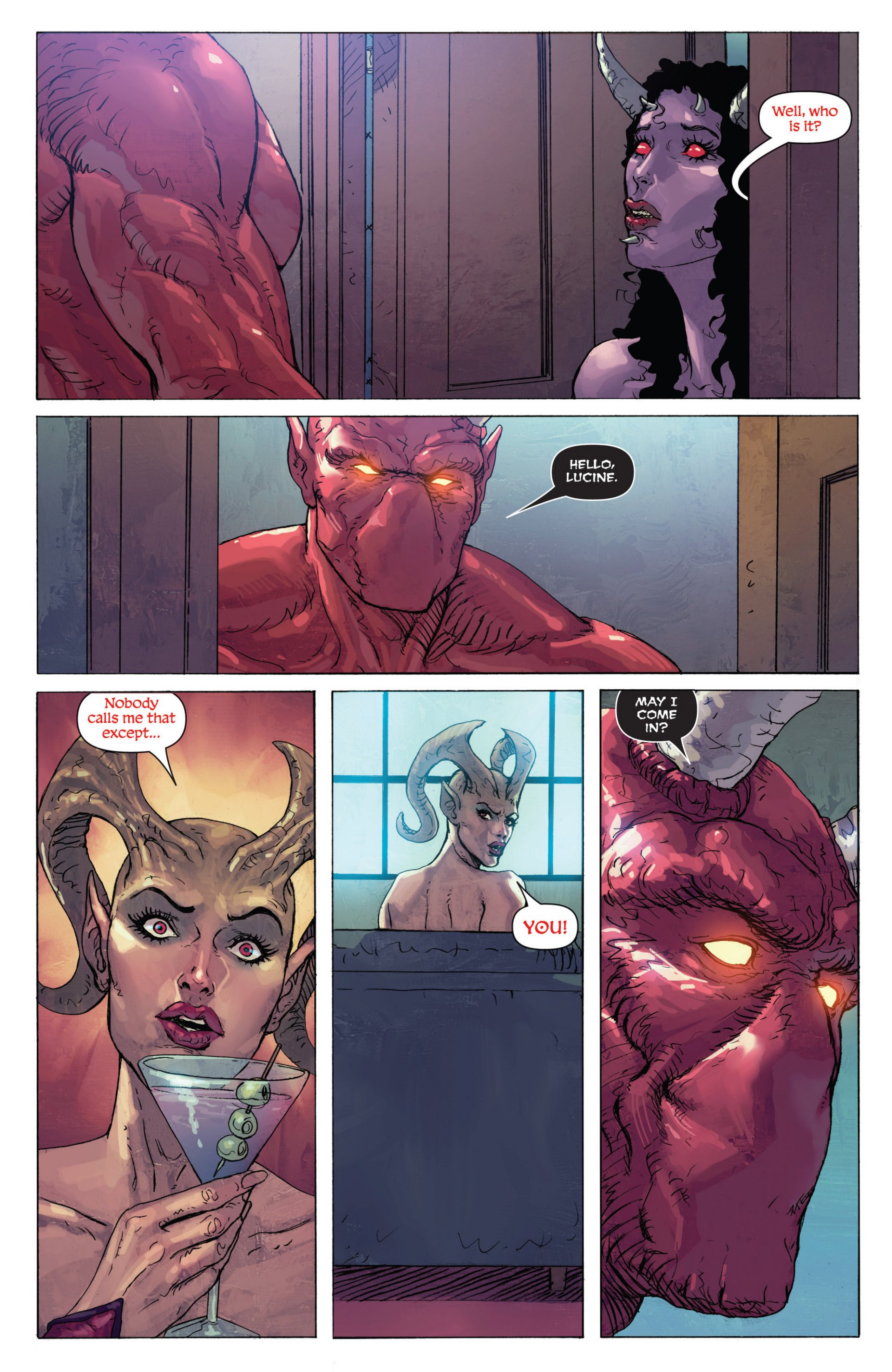 Read online Grimm Fairy Tales presents Inferno: Age of Darkness comic -  Issue # Full - 11