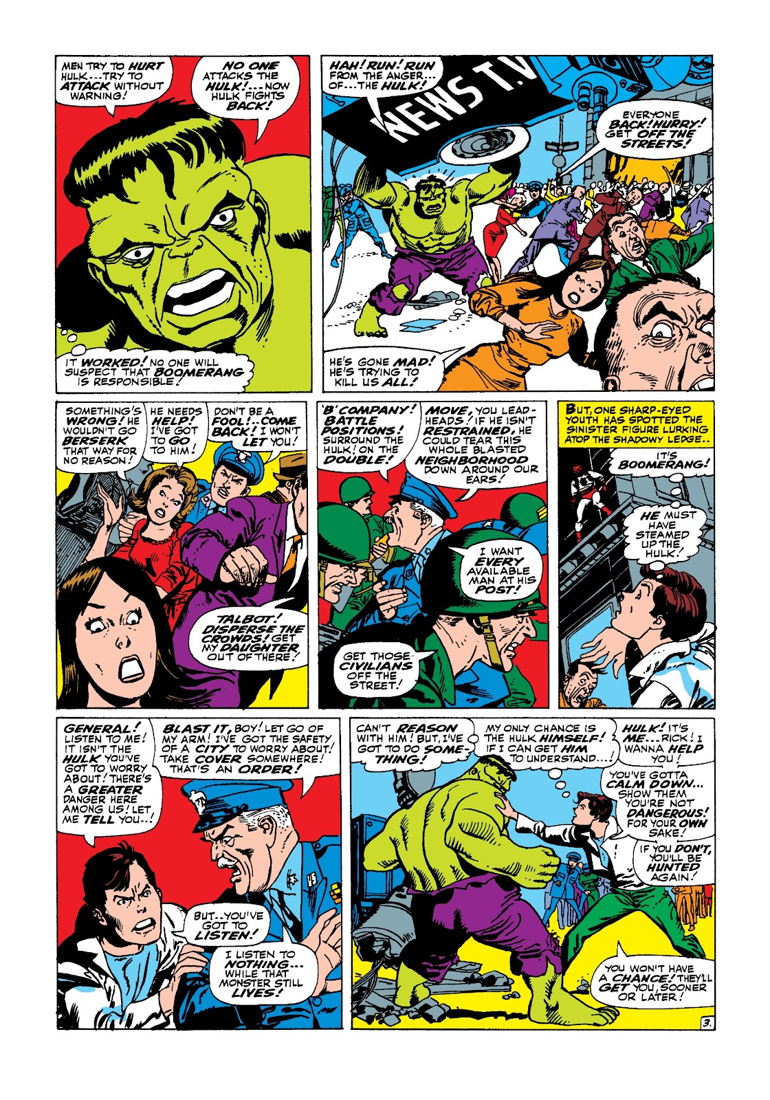 Read online Marvel Masterworks: The Incredible Hulk comic -  Issue # TPB 3 (Part 1) - 98