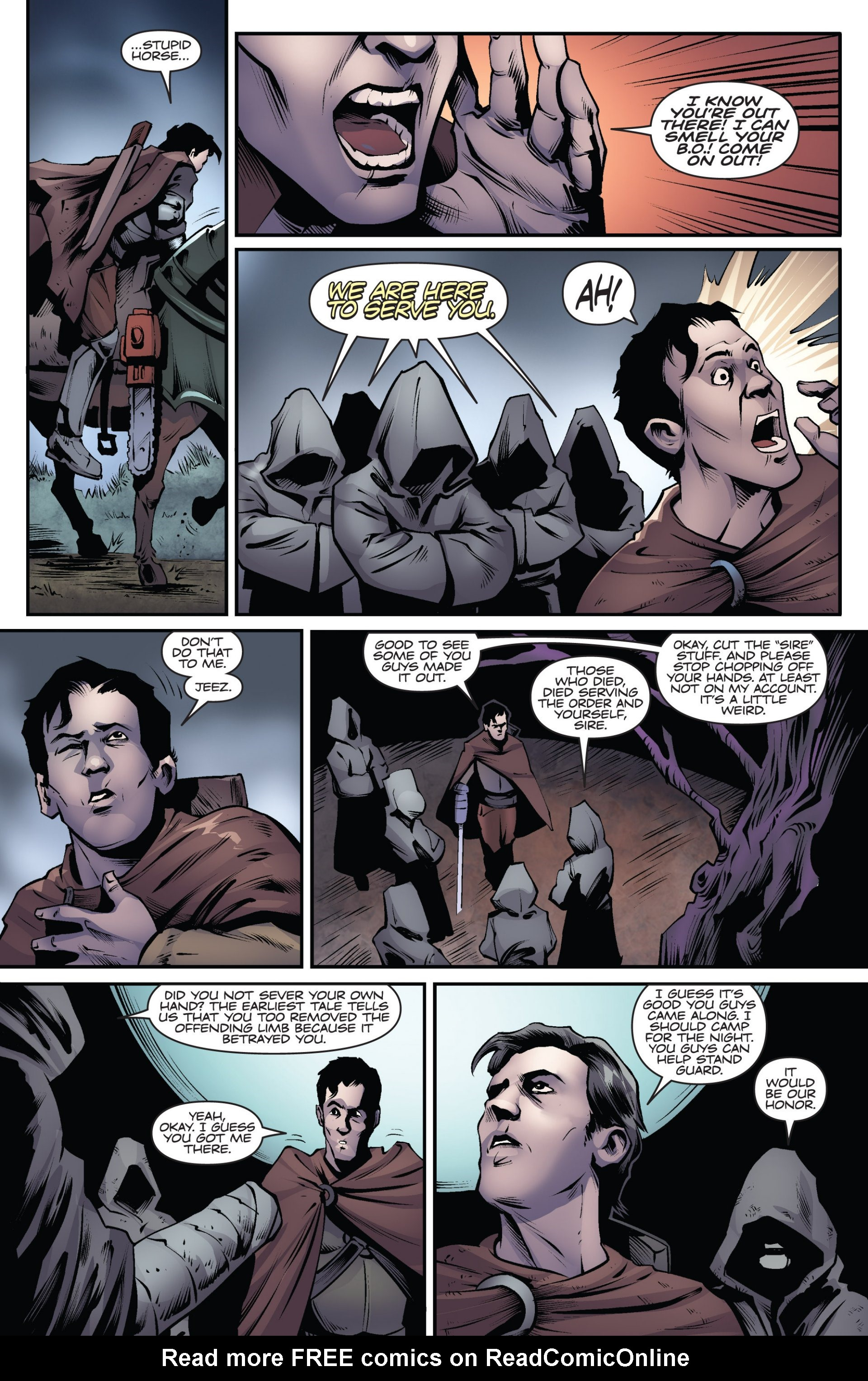 Read online Ash and the Army of Darkness comic -  Issue #6 - 14