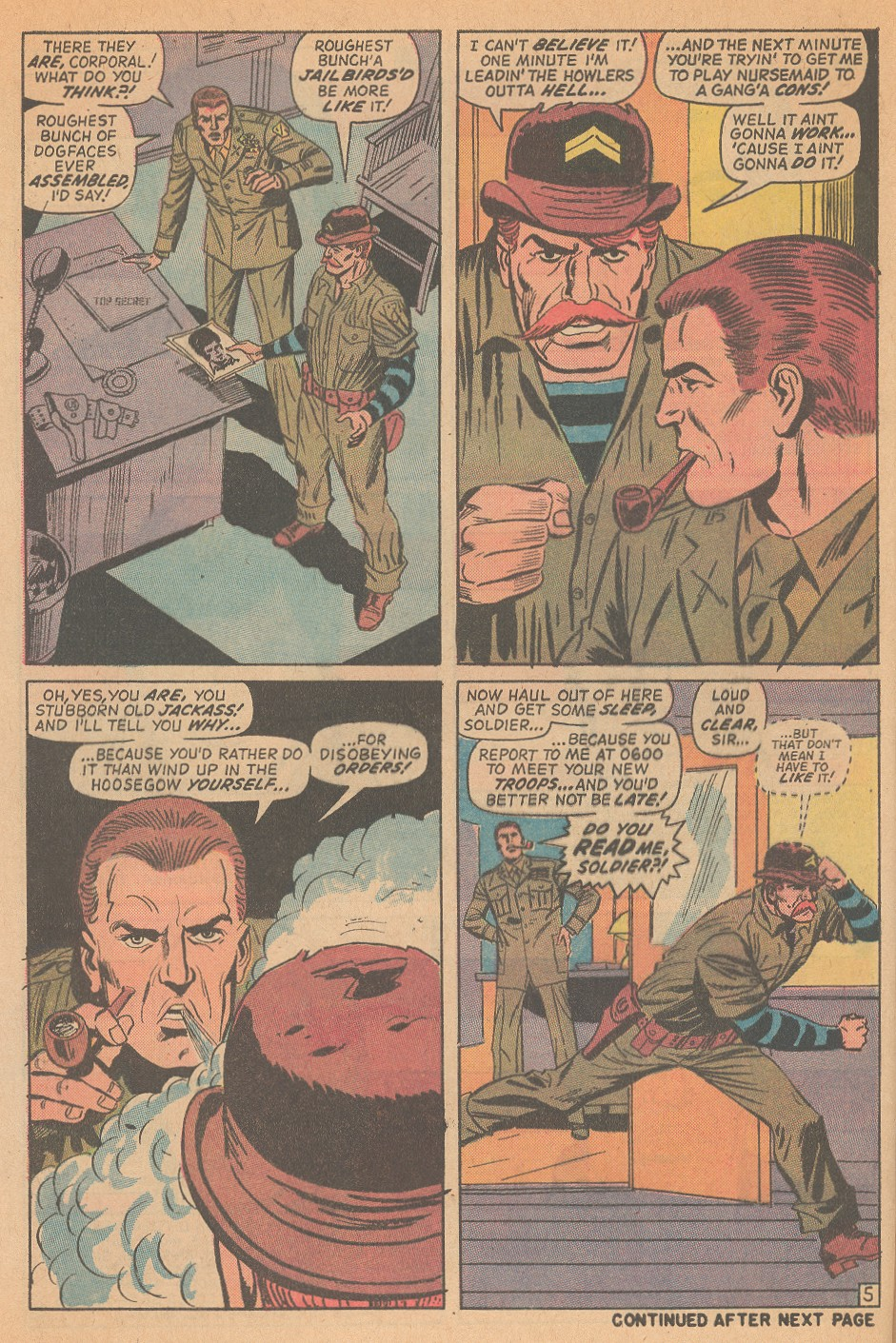 Read online Sgt. Fury comic -  Issue #98 - 8