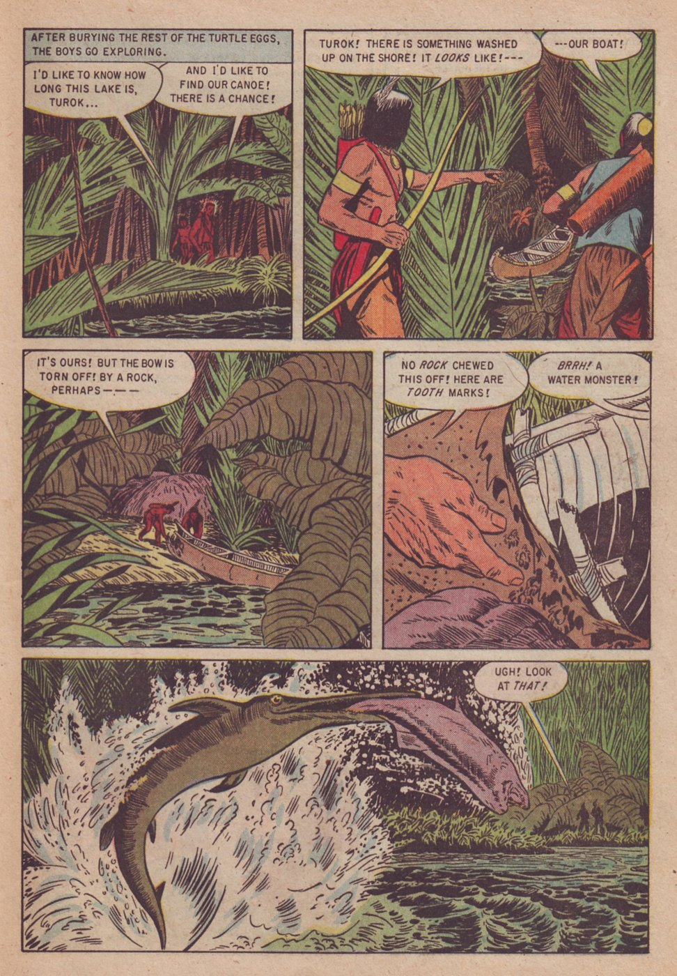 Read online Turok, Son of Stone comic -  Issue #3 - 29
