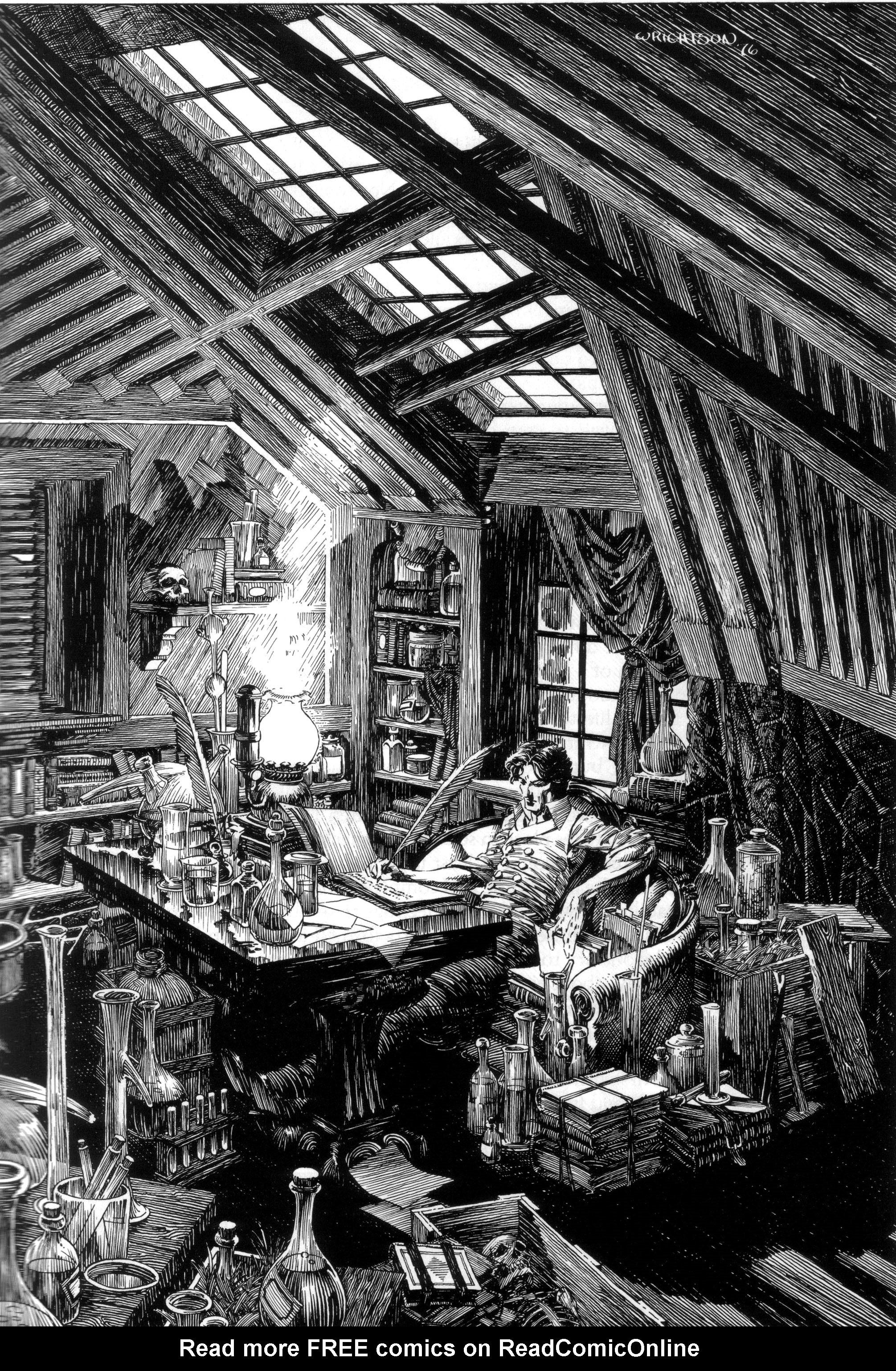 Read online Bernie Wrightson's Frankenstein comic -  Issue # Full - 9