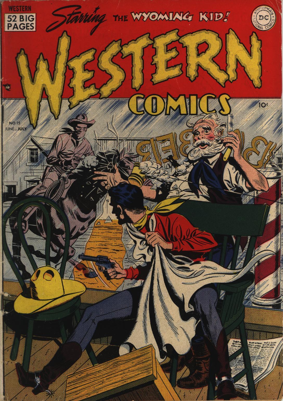 Western Comics 15 Page 1