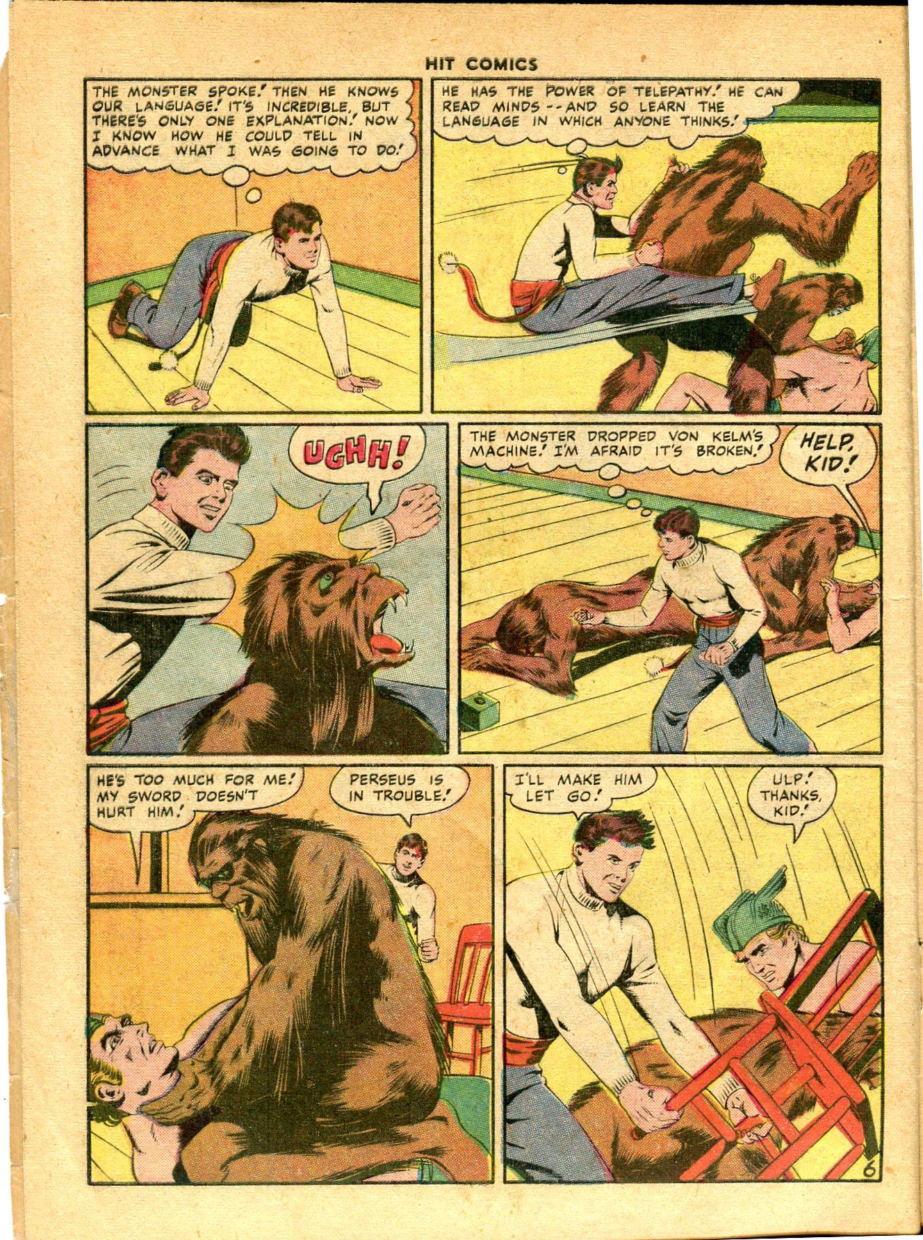 Read online Hit Comics comic -  Issue #49 - 8