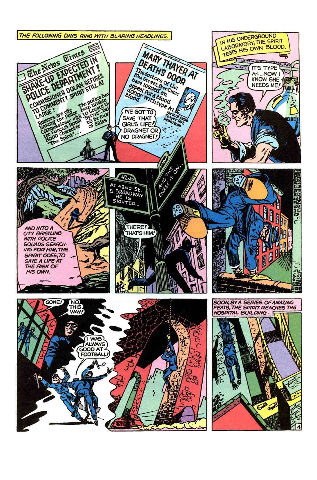 Read online Will Eisner's The Spirit Archives comic -  Issue # TPB 1 (Part 1) - 54