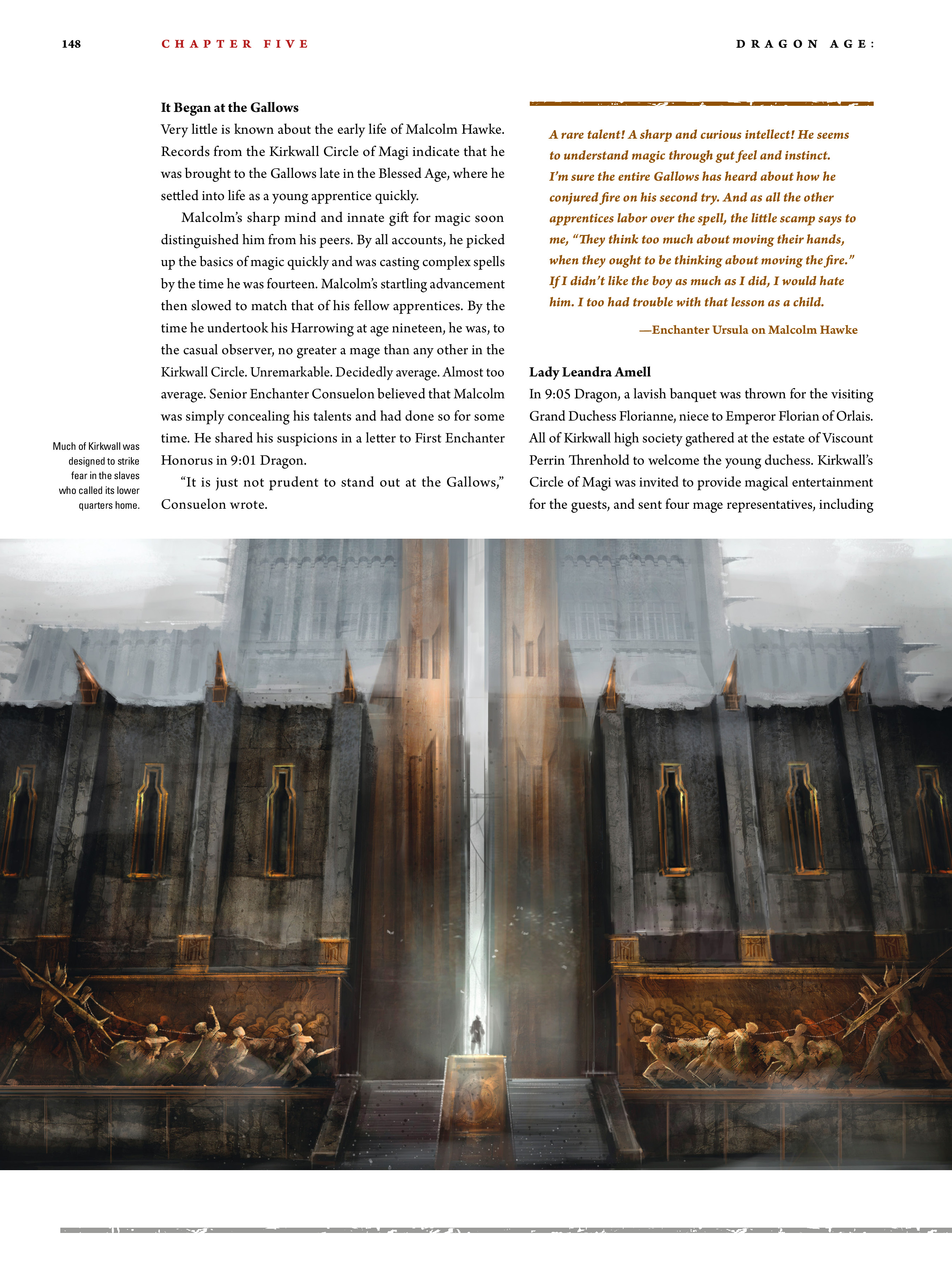 Read online Dragon Age: The World of Thedas comic -  Issue # TPB 2 - 144