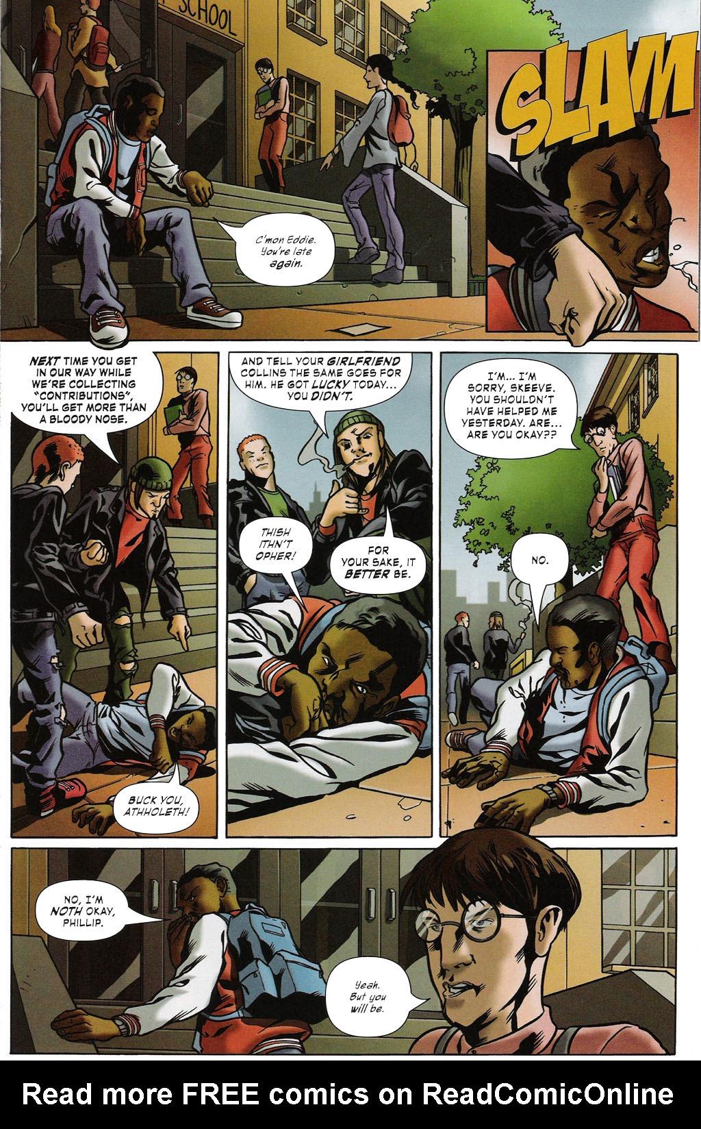 Read online ShadowHawk (2005) comic -  Issue #2 - 7