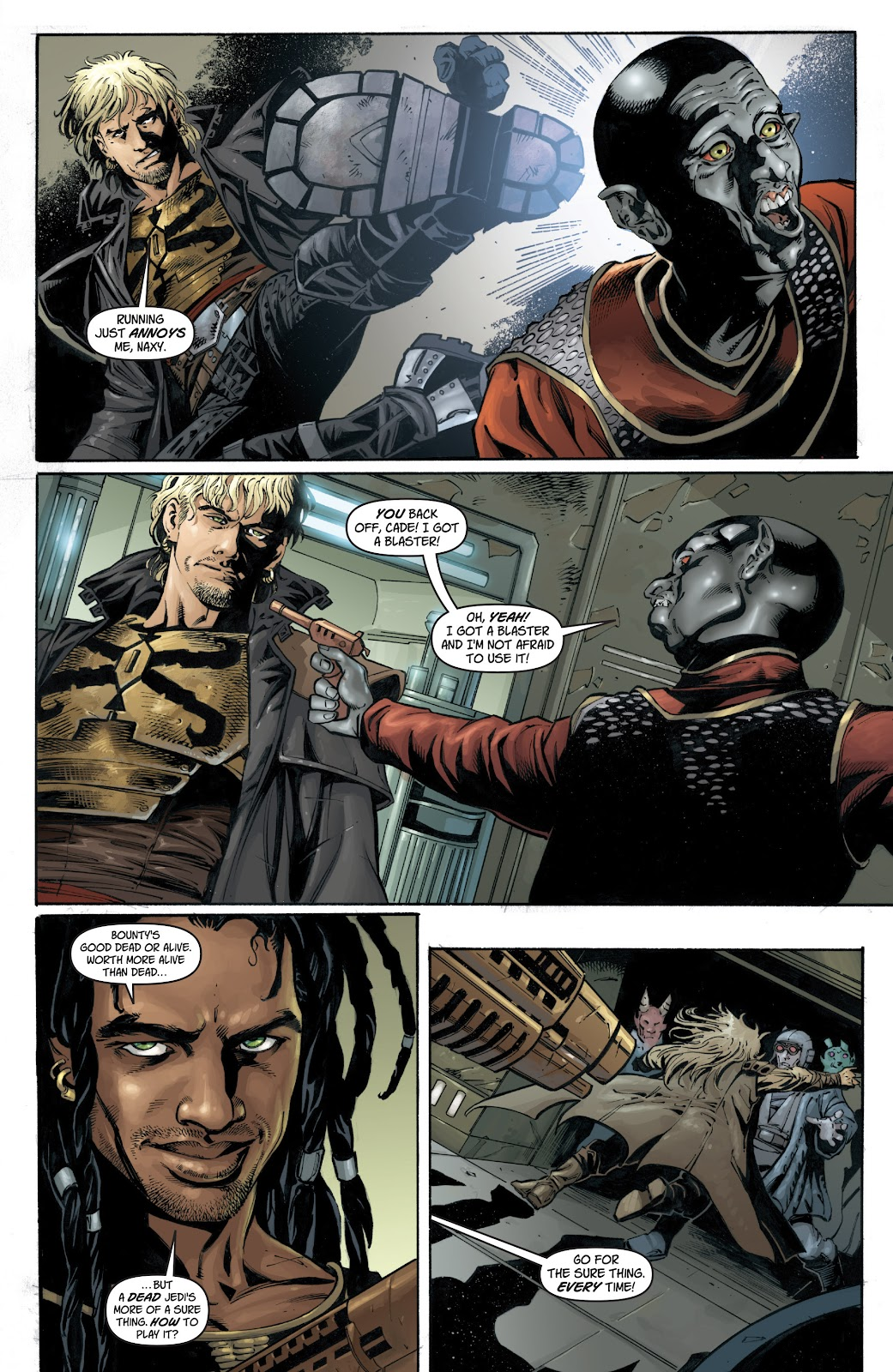Read online Star Wars Legends: Legacy - Epic Collection comic -  Issue # TPB 1 (Part 1) - 40
