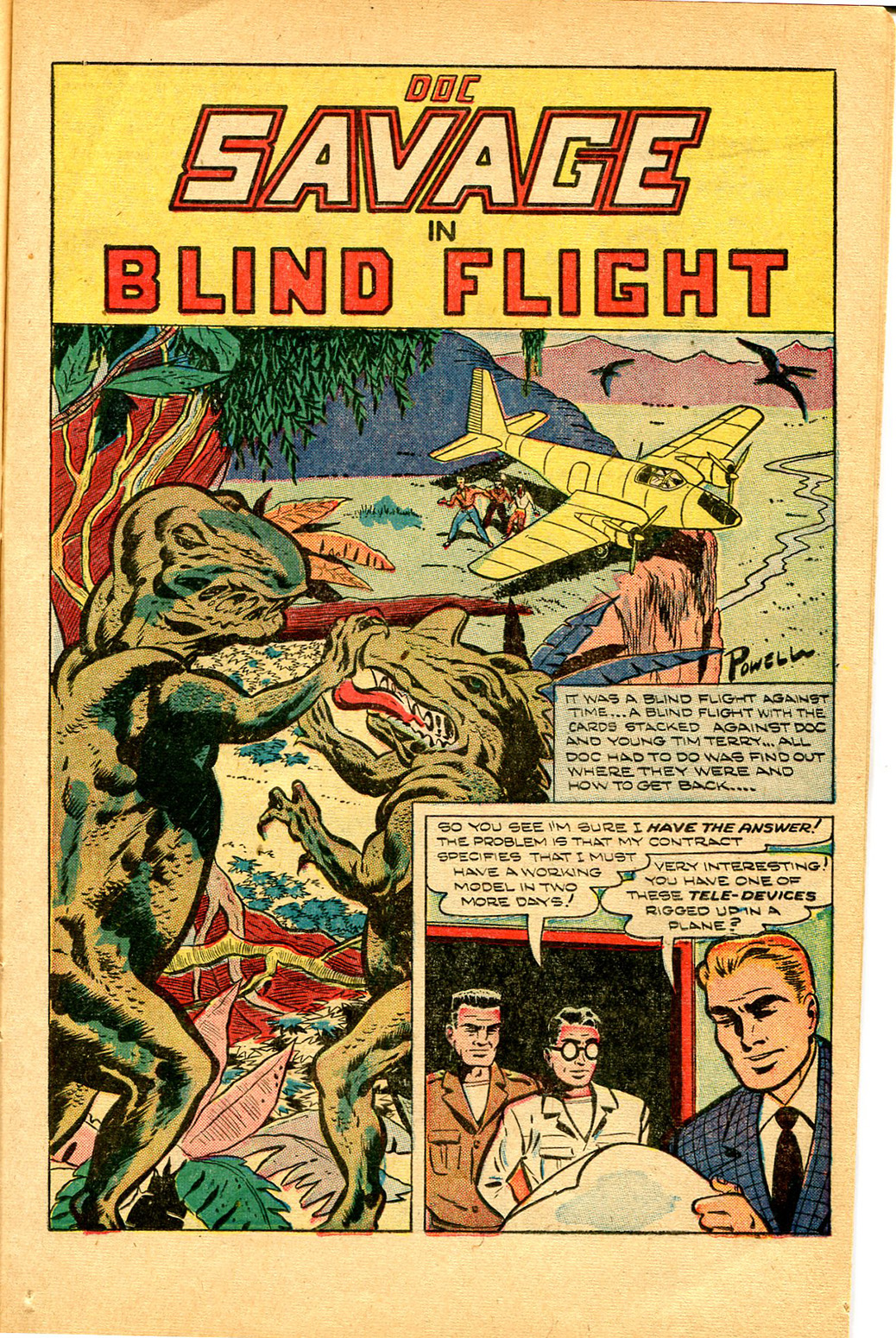 Read online Shadow Comics comic -  Issue #97 - 17