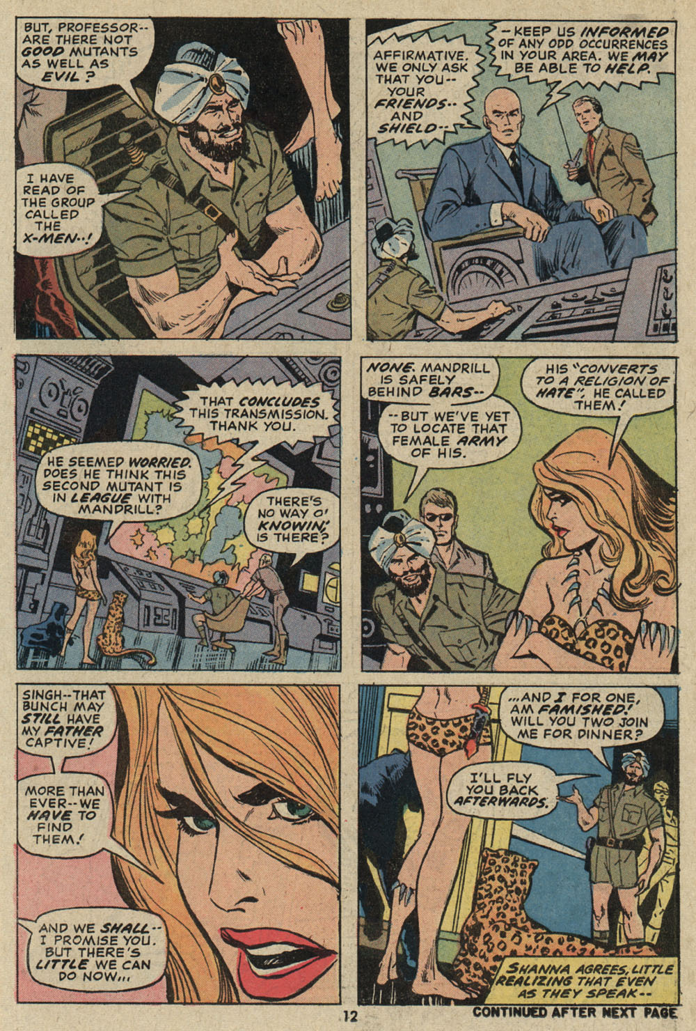 Read online Shanna, the She-Devil (1972) comic -  Issue #5 - 10
