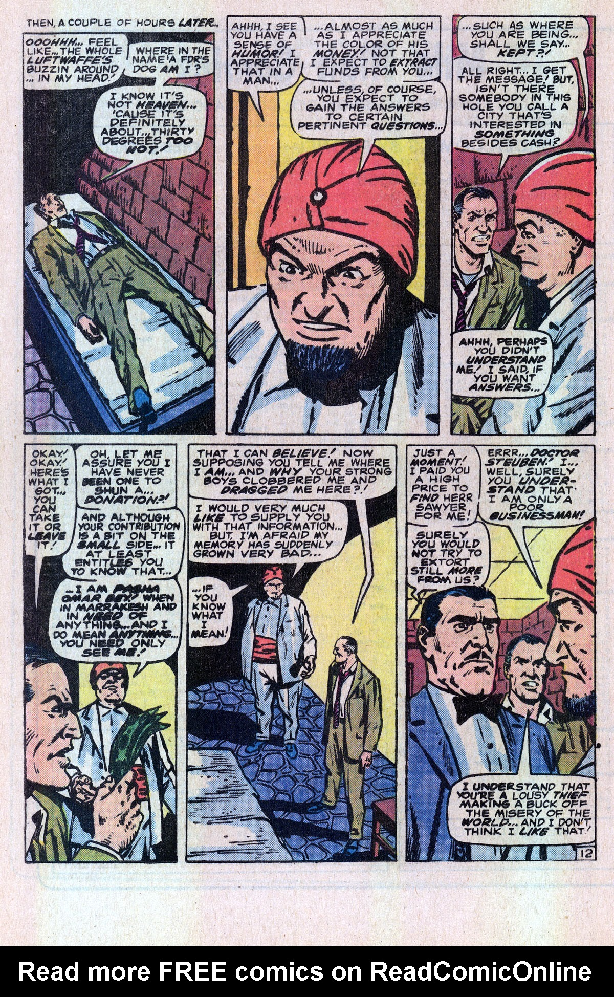 Read online Sgt. Fury comic -  Issue #166 - 19