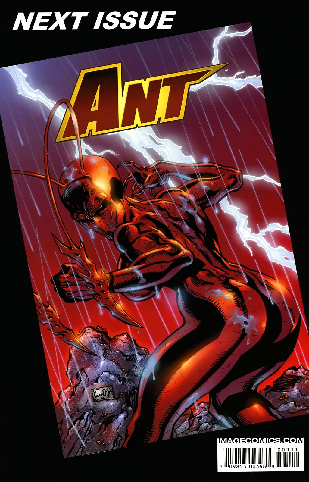 Read online Ant comic -  Issue #3 - 27