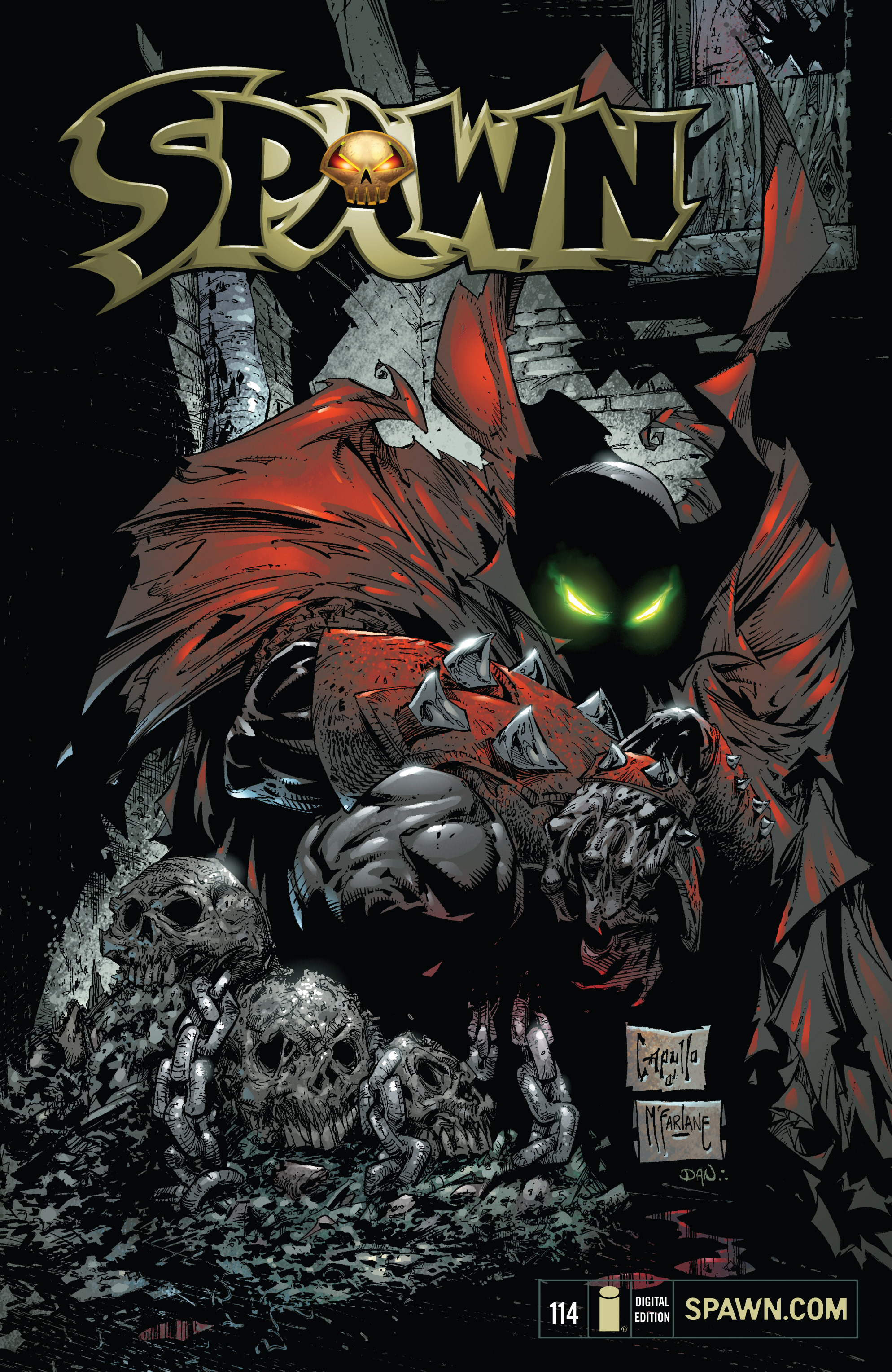 Spawn 114 Page 1