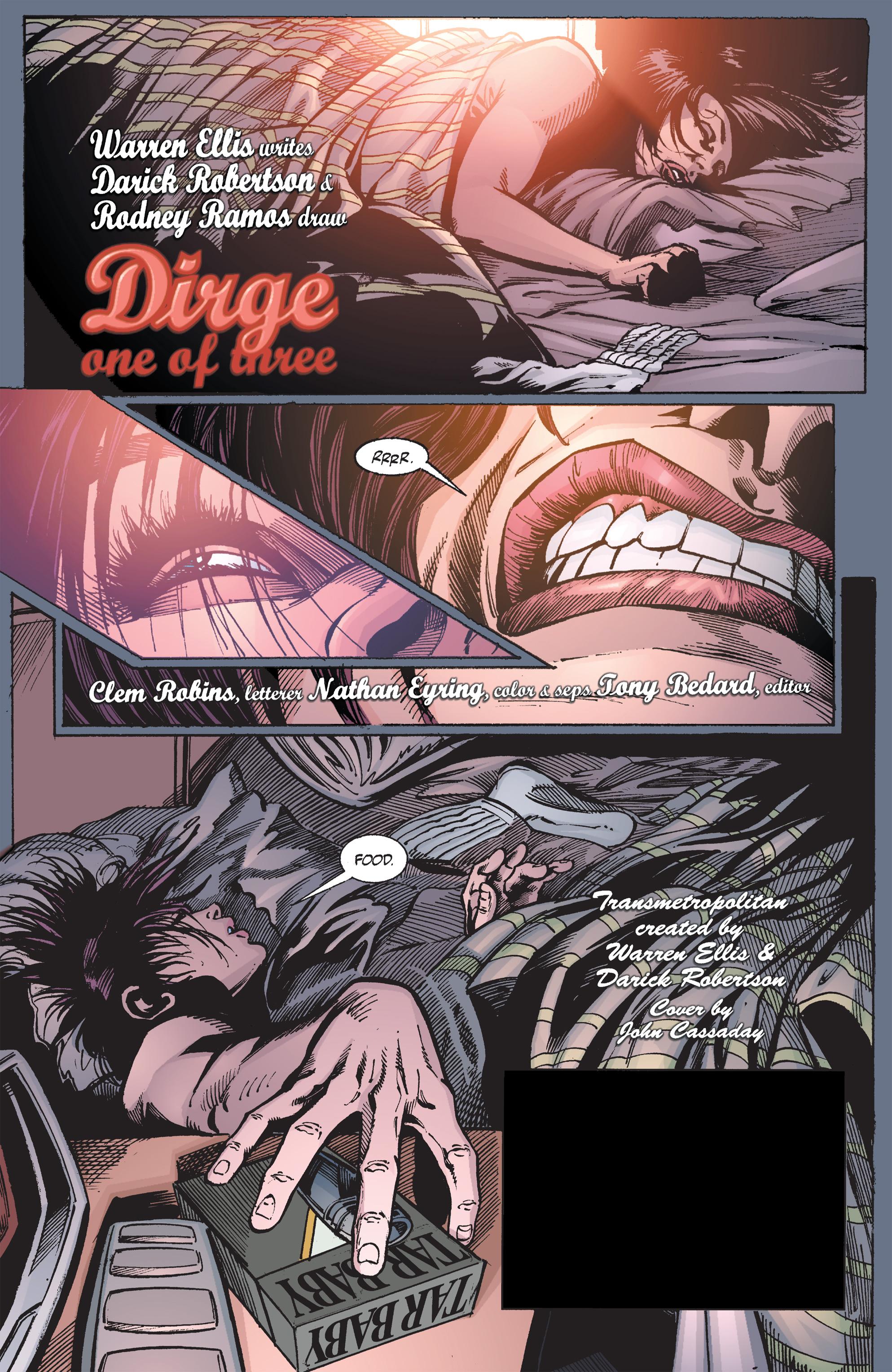 Read online Transmetropolitan comic -  Issue #43 - 2