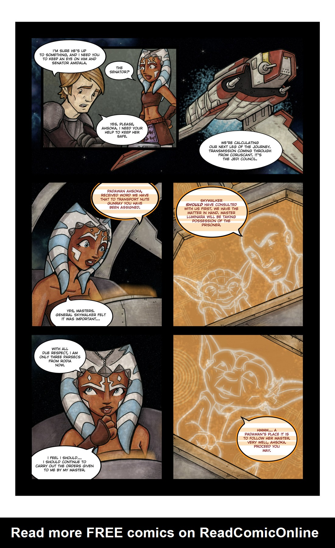 Read online Star Wars: Tales From The Clone Wars comic -  Issue # TPB - 64
