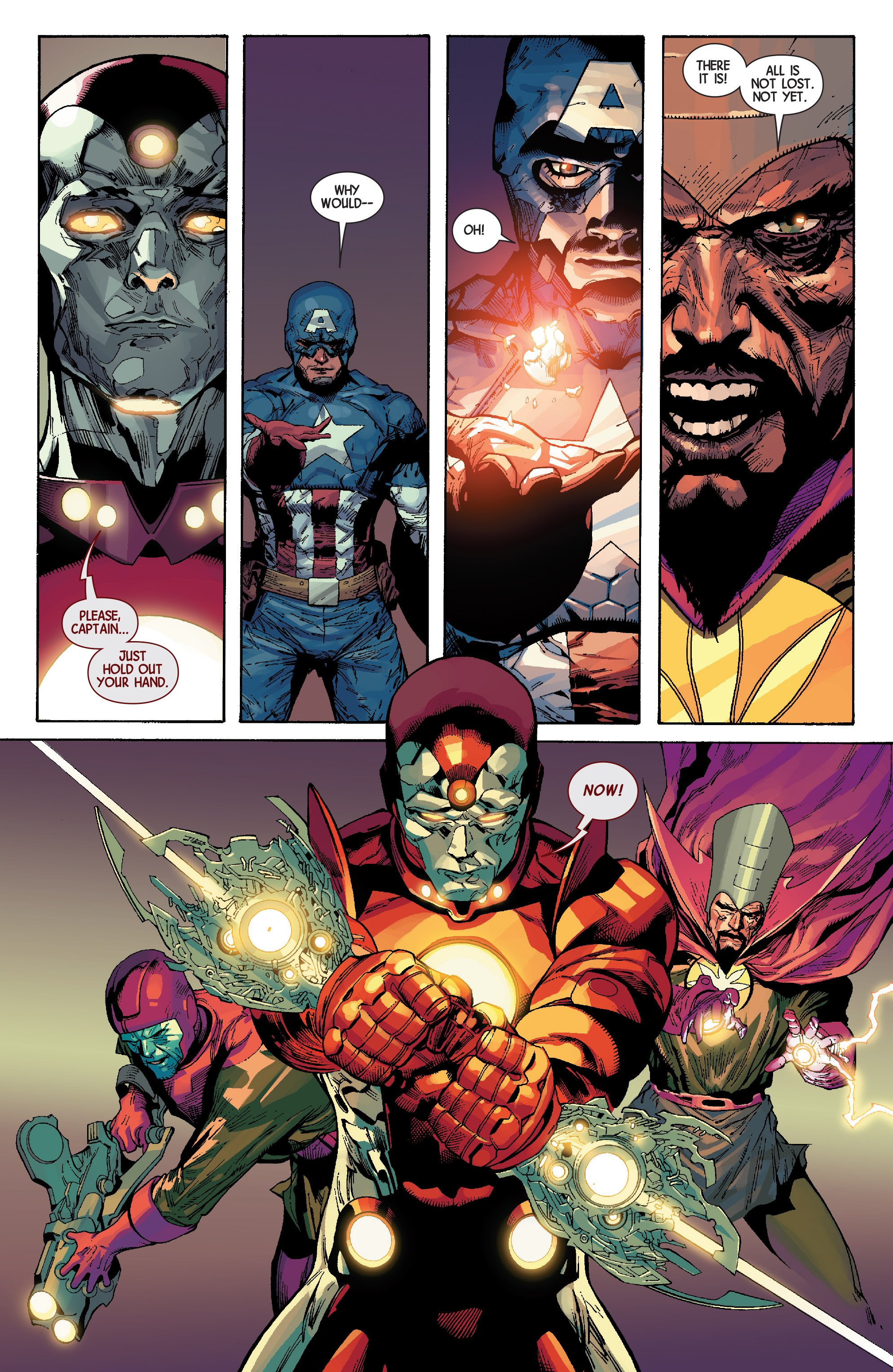 Read online Avengers (2013) comic -  Issue #Avengers (2013) _TPB 6 - 134